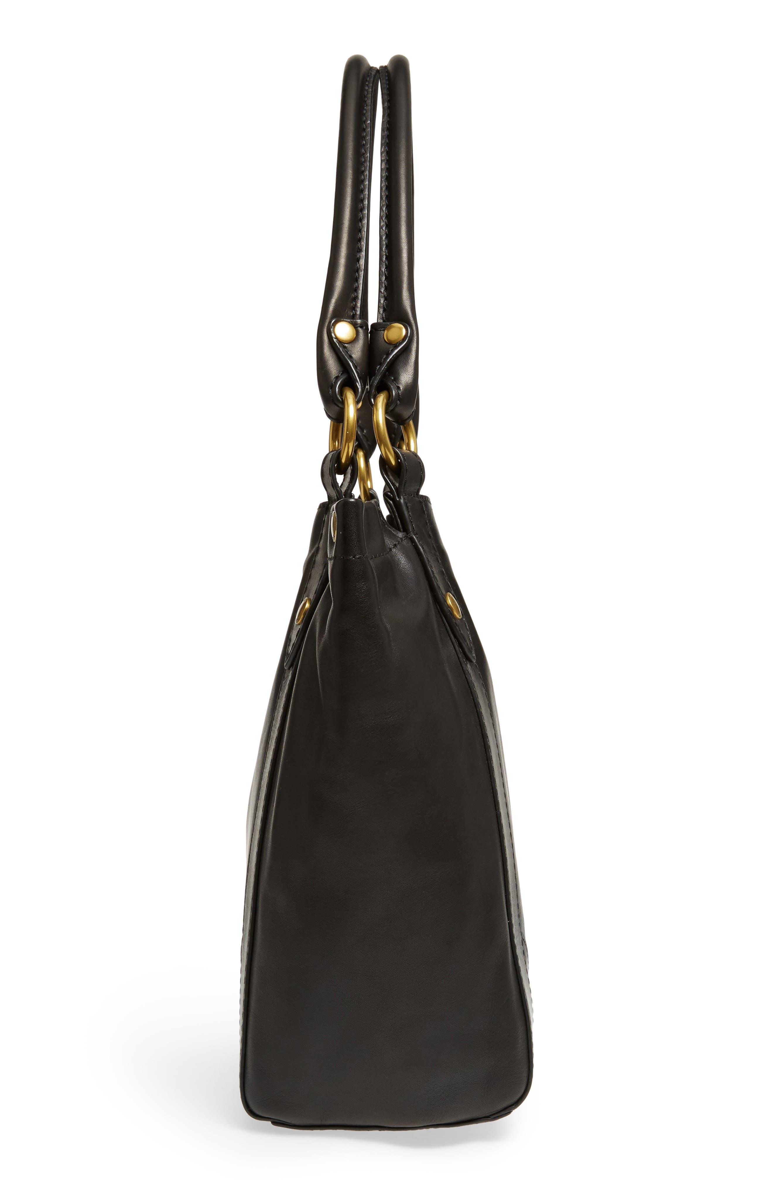 Melissa Leather Shoulder Bag,                             Alternate thumbnail 13, color,