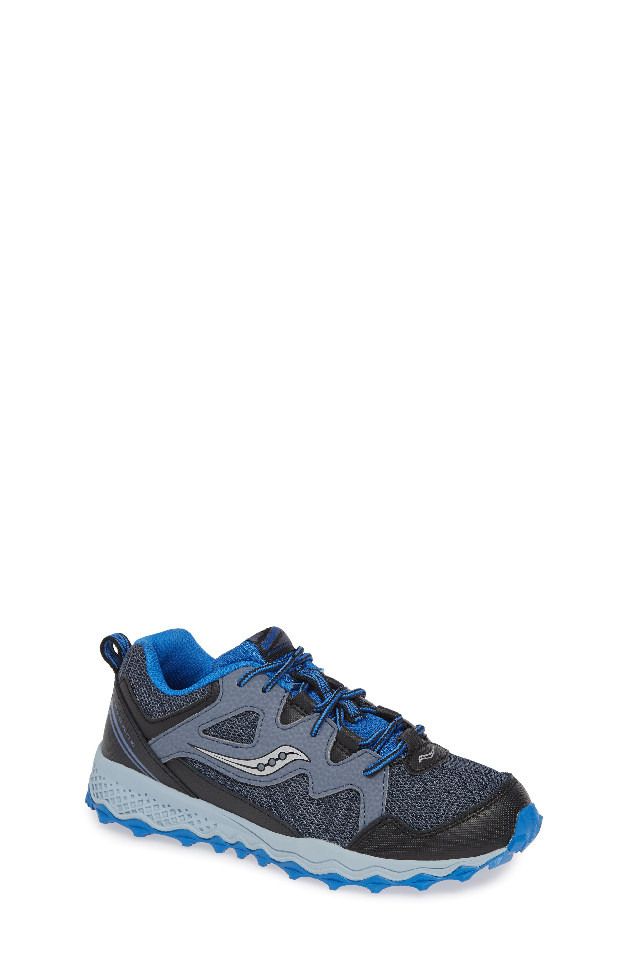 Peregrine Shield 2 Water Repellent Sneaker,                             Main thumbnail 1, color,                             GREY LEATHER/ MESH