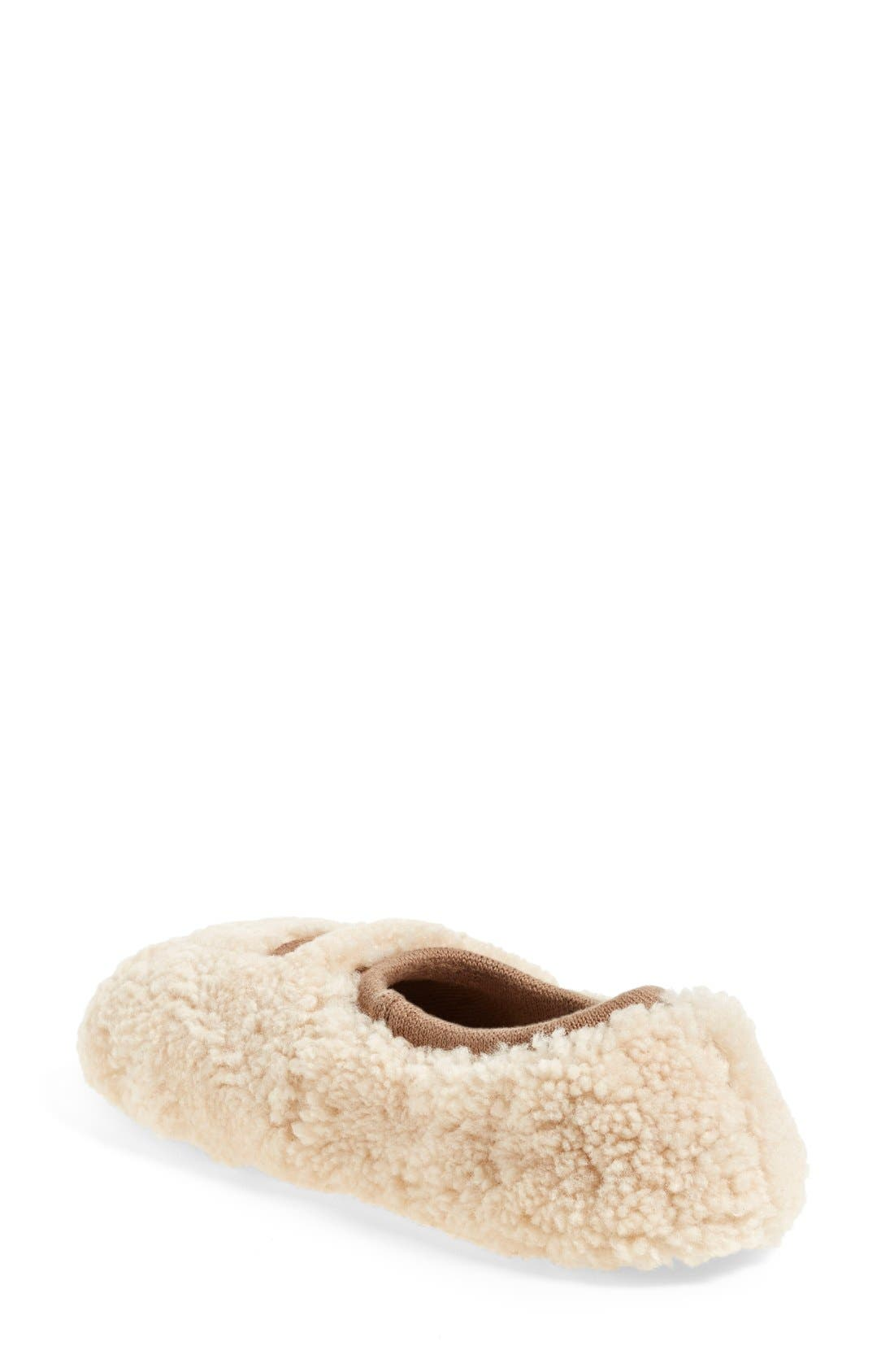 Birche Slipper,                             Alternate thumbnail 2, color,                             NATURAL