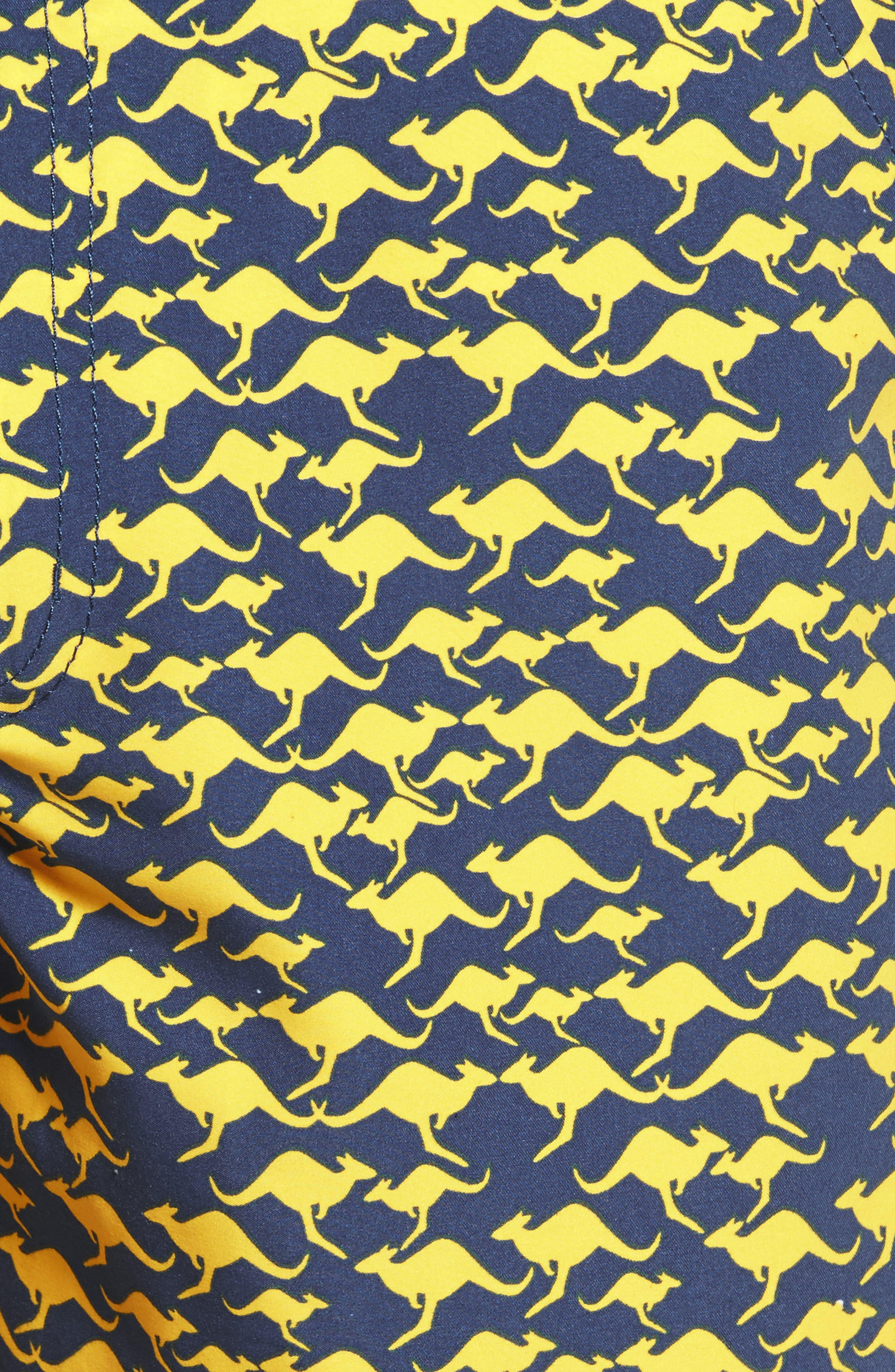 Kangaroo Swim Trunks,                             Alternate thumbnail 5, color,                             410