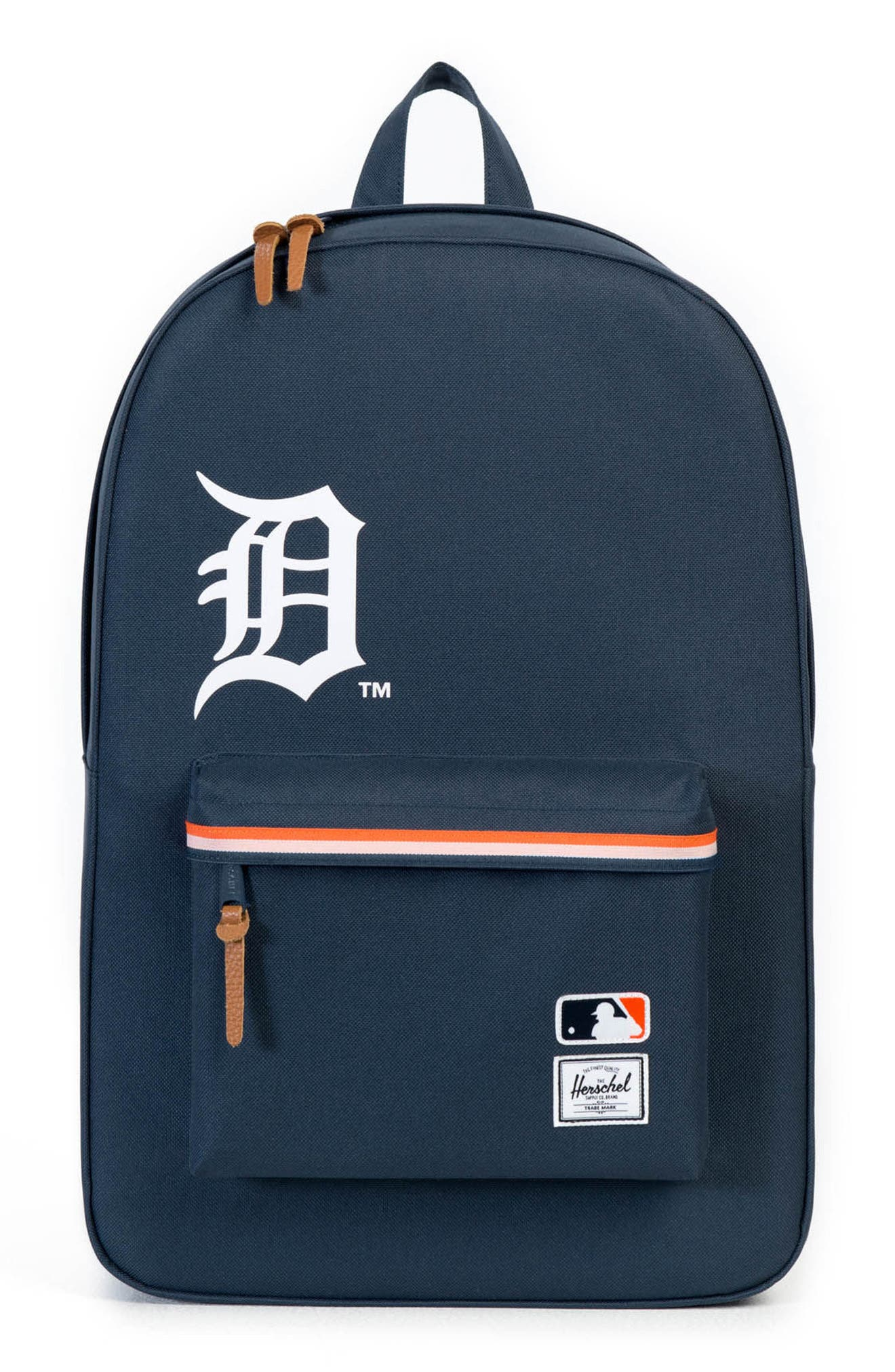Heritage Detroit Tigers Backpack,                             Main thumbnail 1, color,                             499