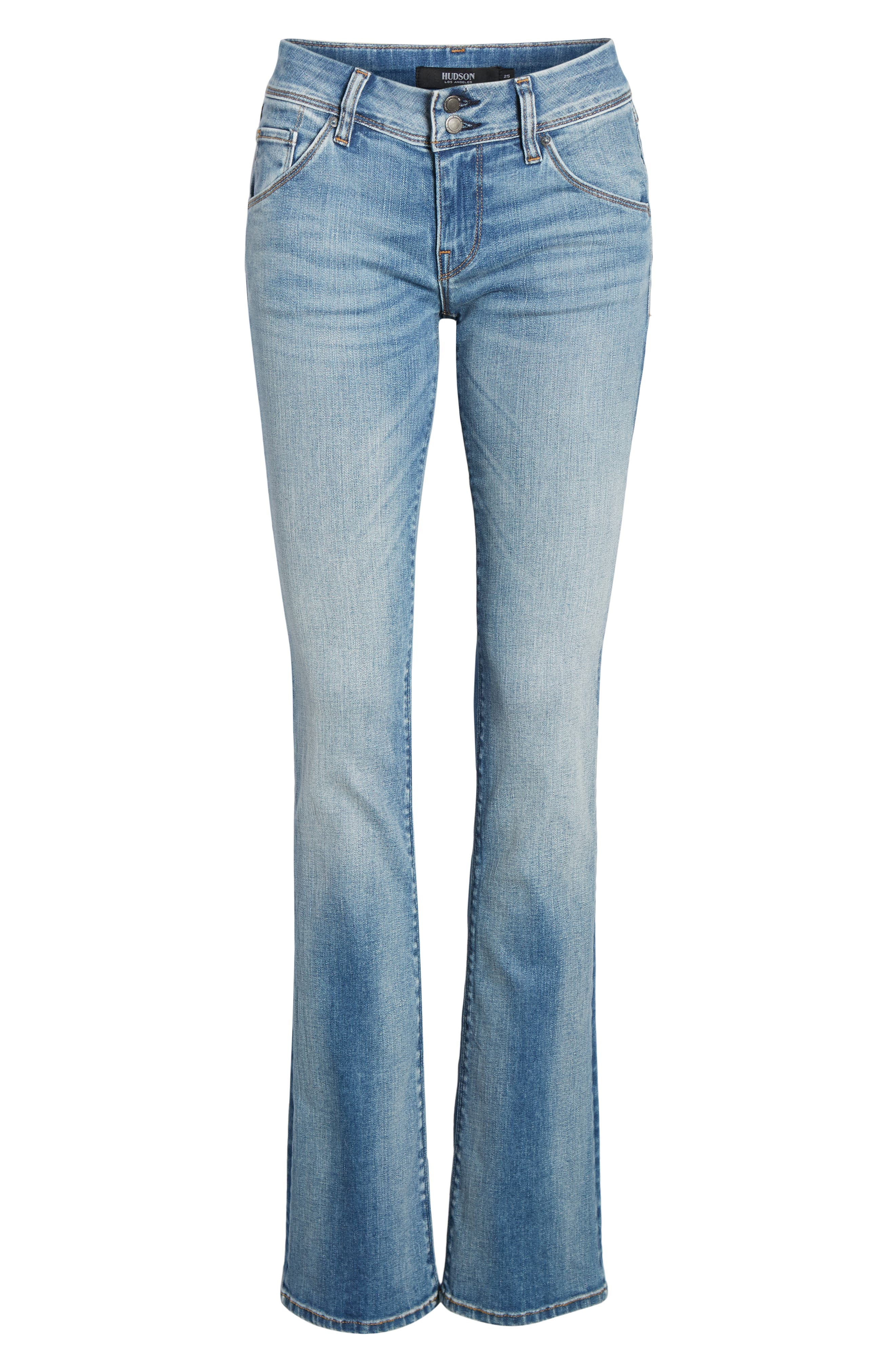 Beth Baby Bootcut Jeans,                             Alternate thumbnail 6, color,                             PREPARTY