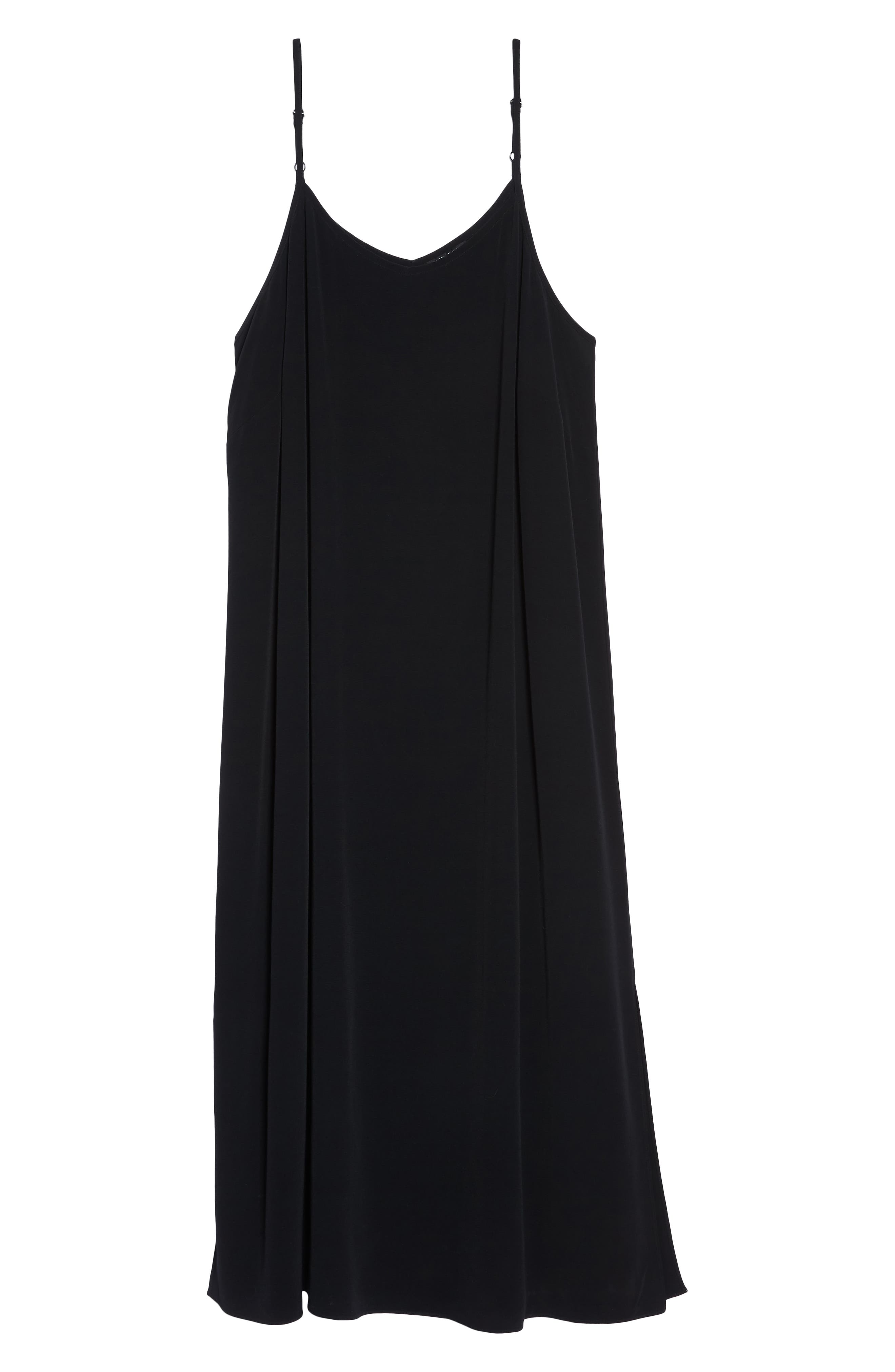 Cami Dress,                             Alternate thumbnail 7, color,                             001