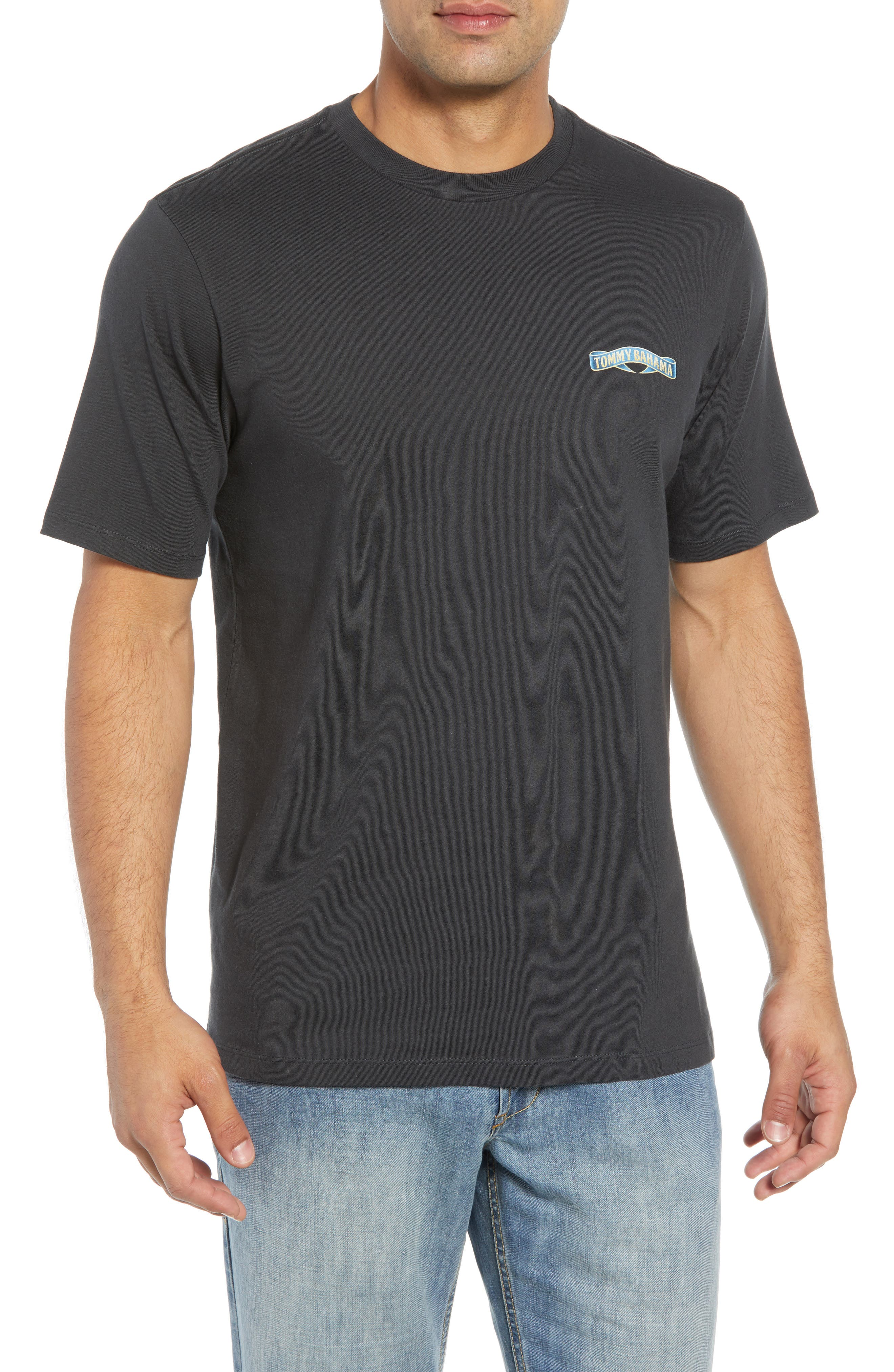 TOMMY BAHAMA Find your Hoppy Place T-Shirt, Main, color, 001