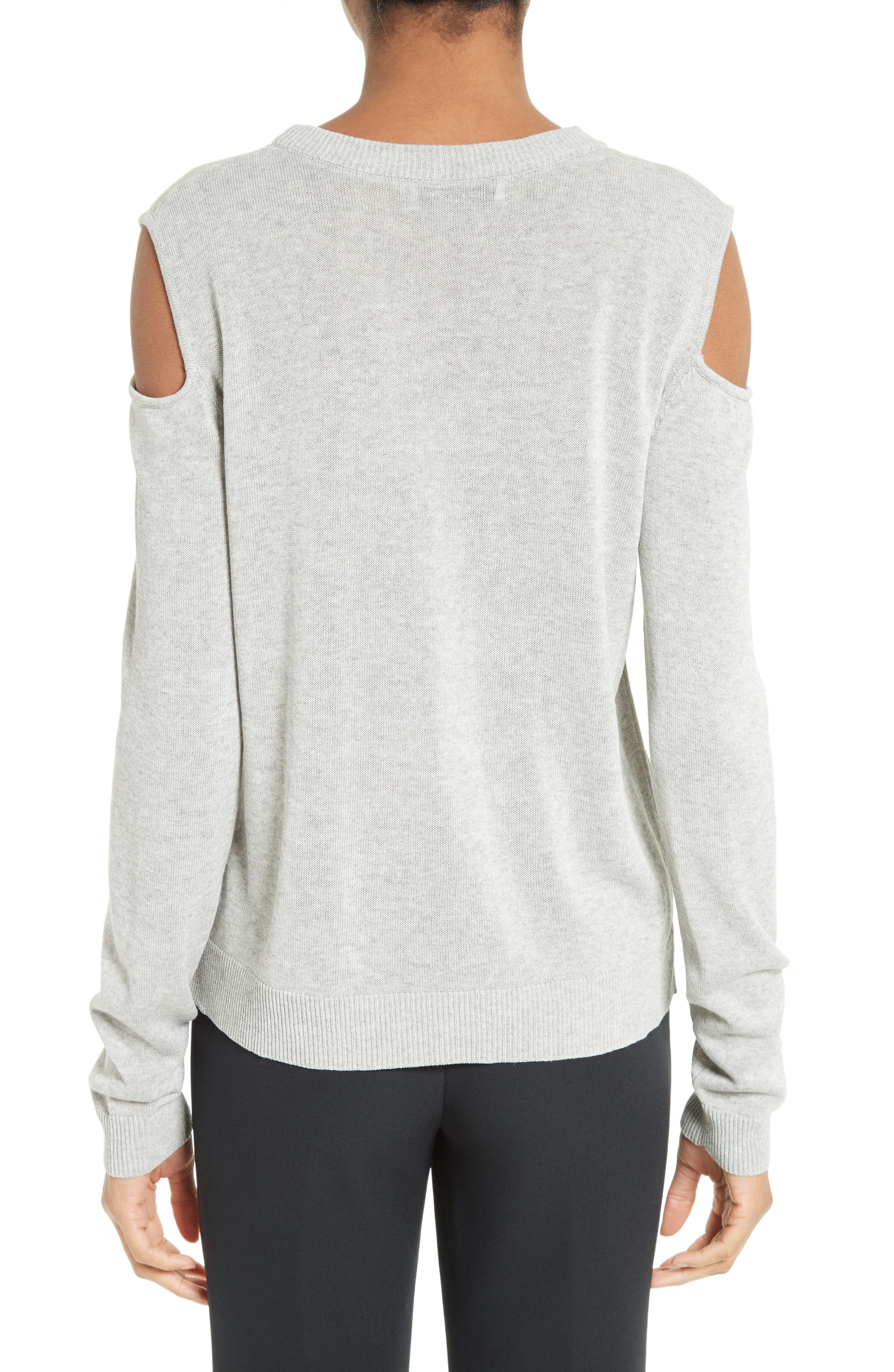 Cold Shoulder Pullover,                             Alternate thumbnail 2, color,                             020