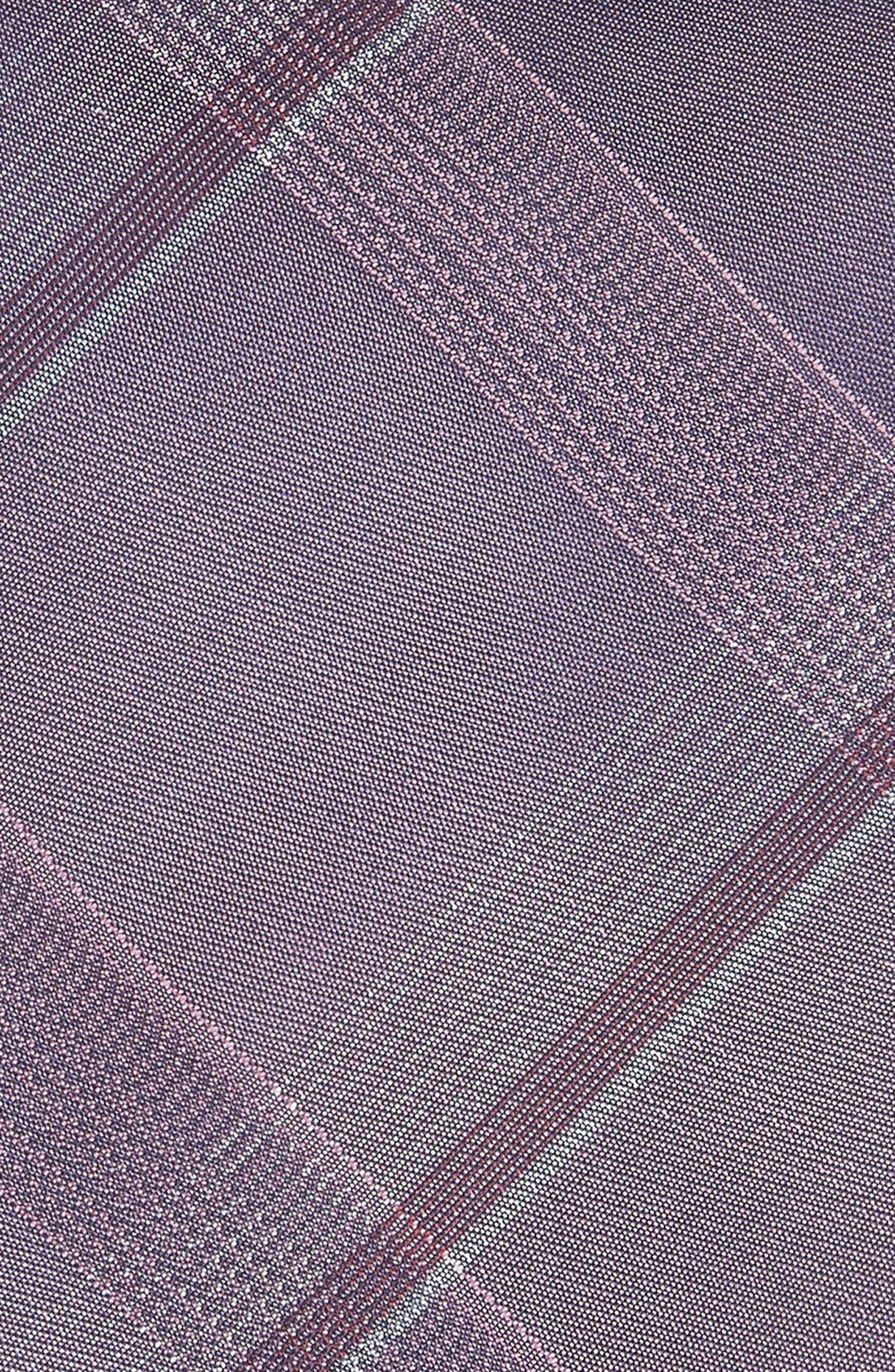 Plaid Silk Tie,                             Alternate thumbnail 2, color,