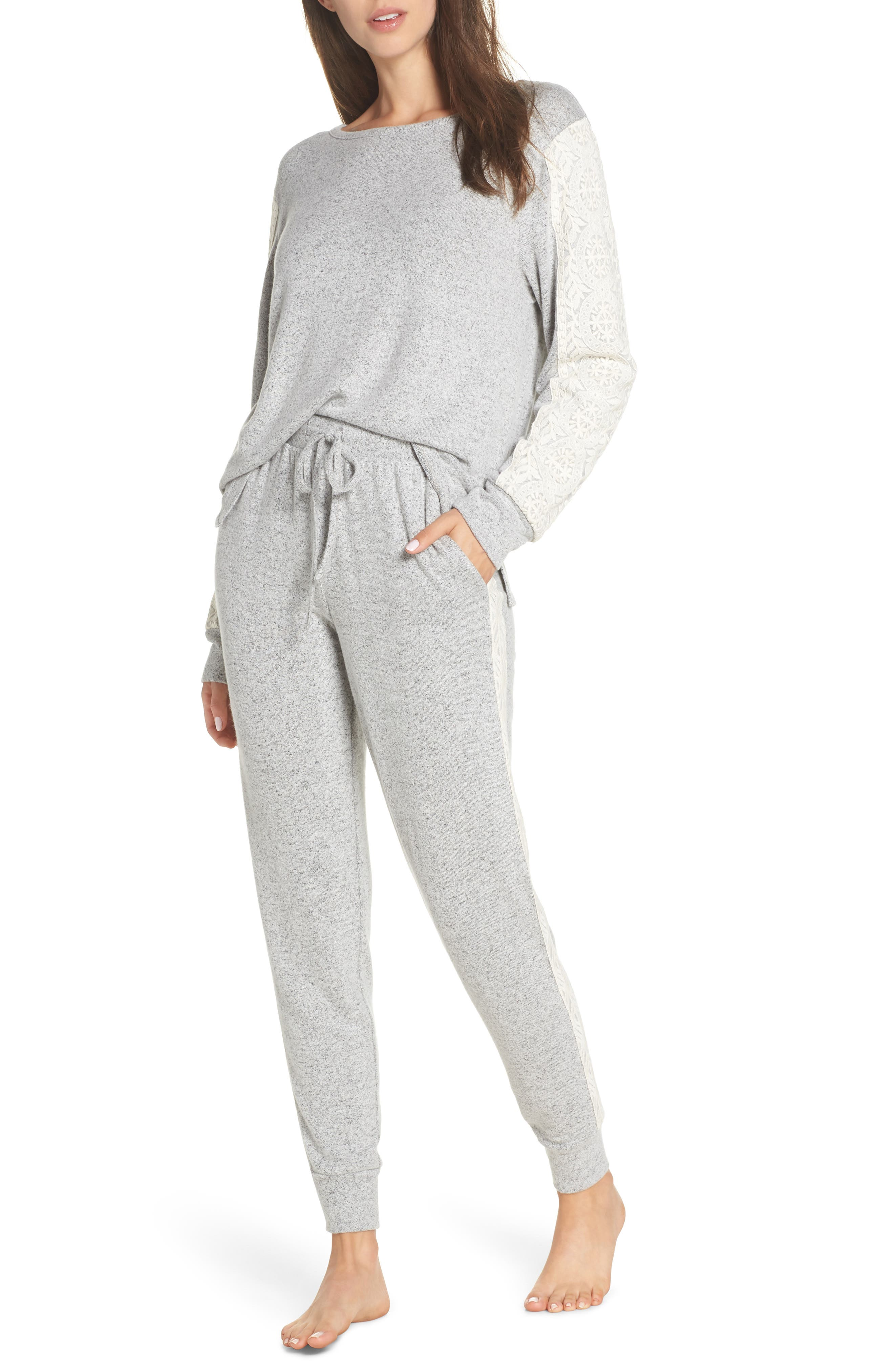FLORA NIKROOZ Harbor Pajamas, Main, color, 060