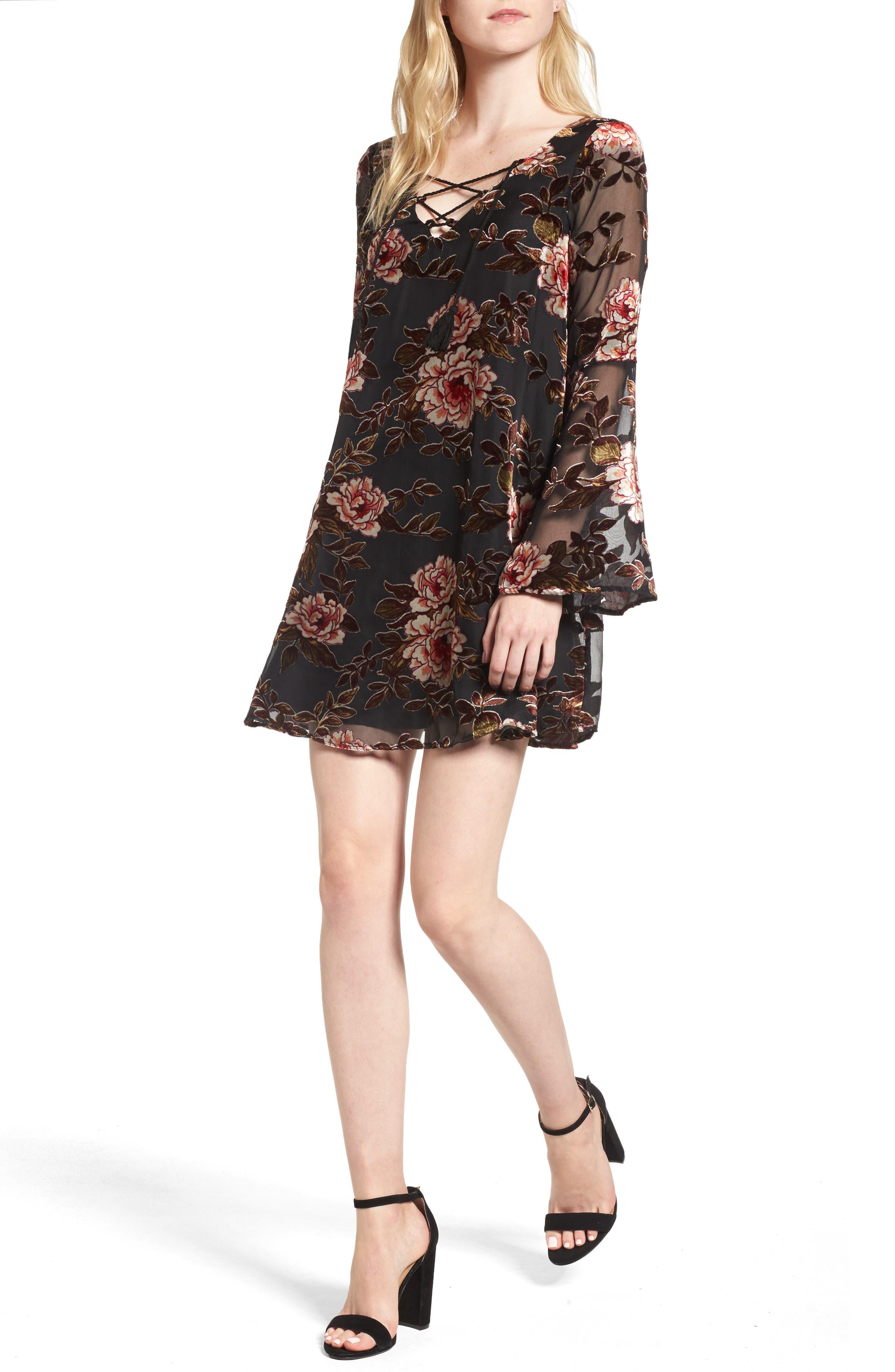Valda Swing Dress,                             Main thumbnail 1, color,