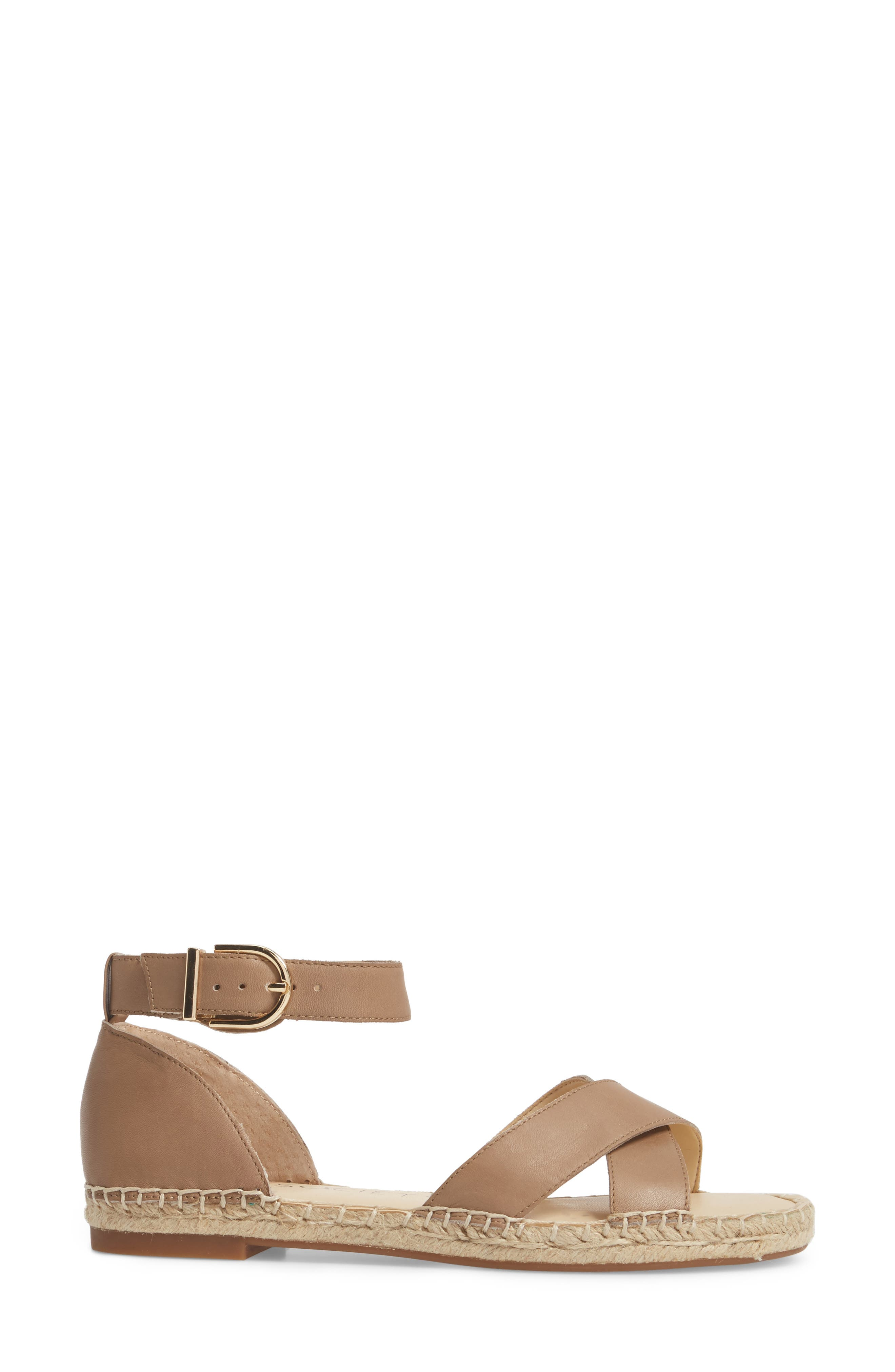 Saundra Espadrille Sandal,                             Alternate thumbnail 10, color,