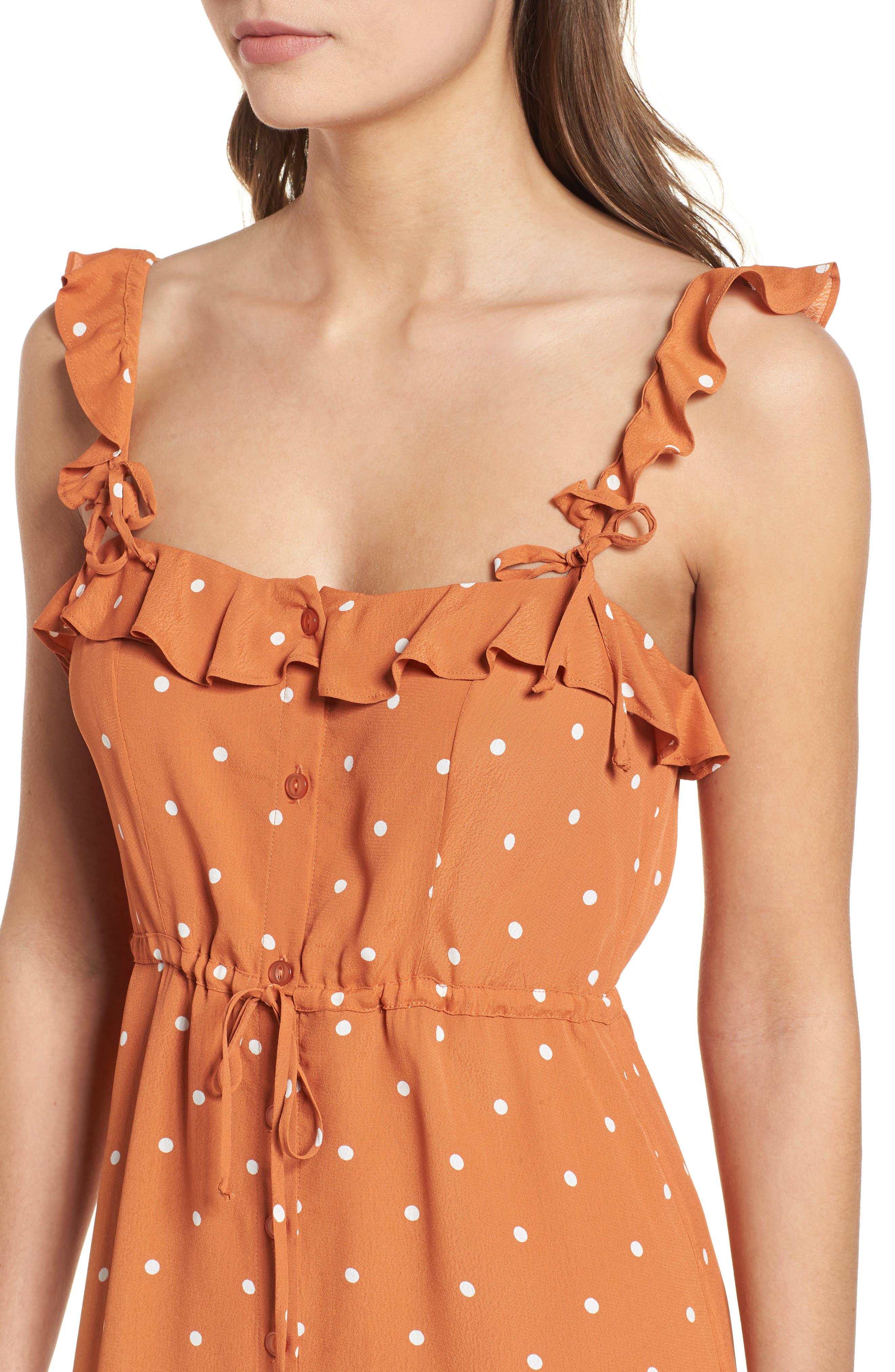 Natalia Midi Dress,                             Alternate thumbnail 8, color,