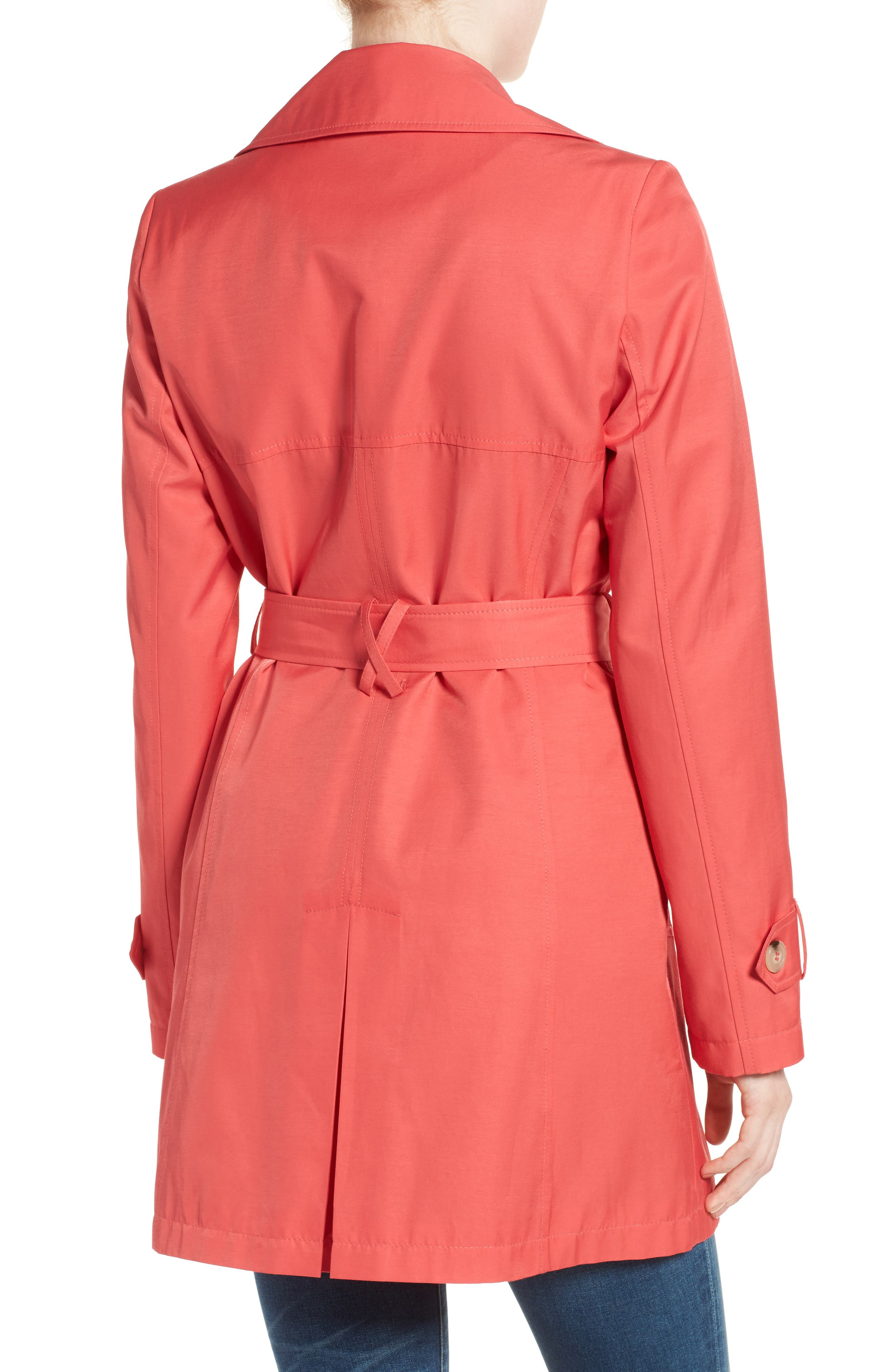 Detachable Hood Trench Coat,                             Alternate thumbnail 32, color,