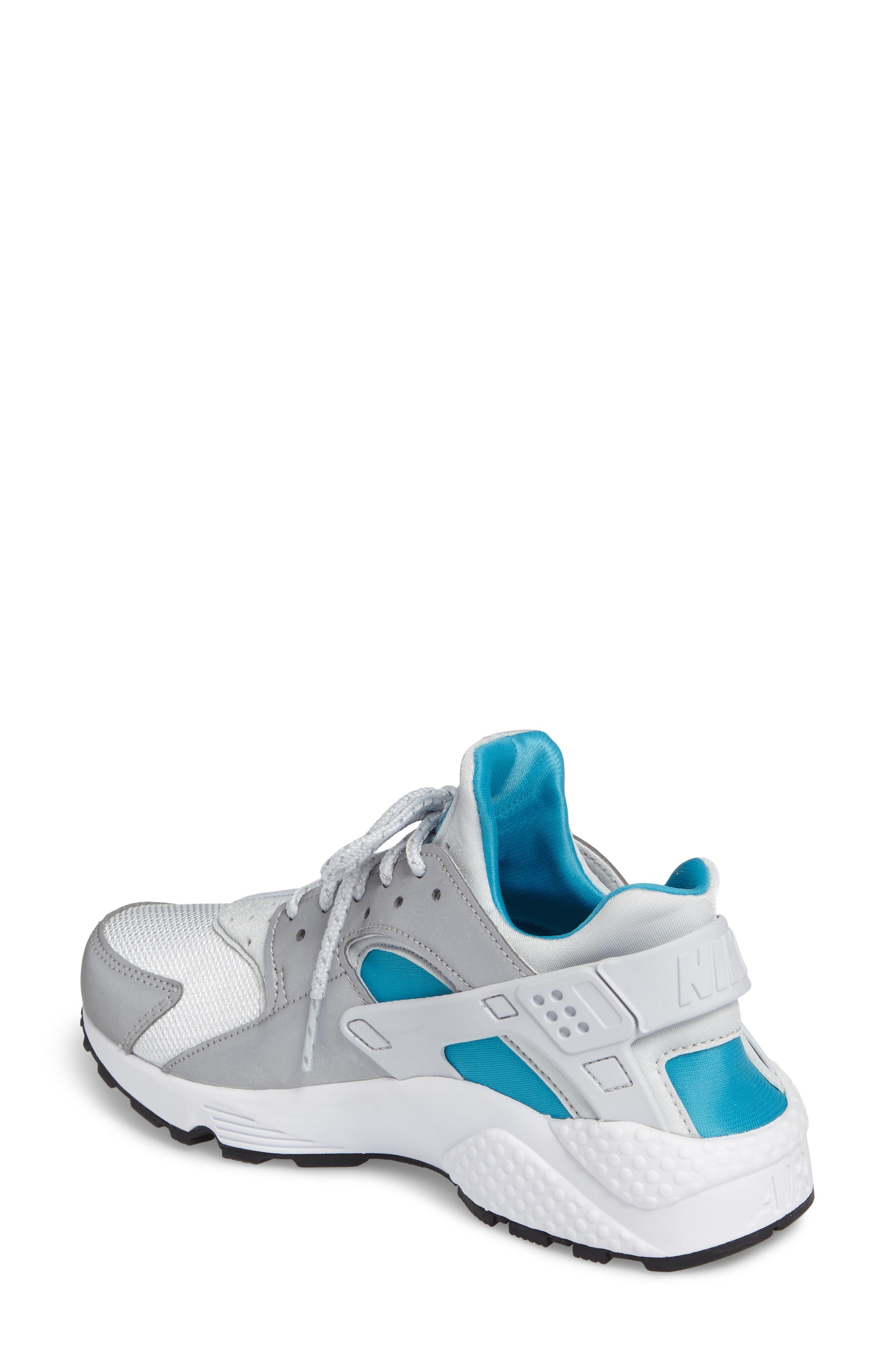 Air Huarache Run QS Sneaker,                             Alternate thumbnail 2, color,