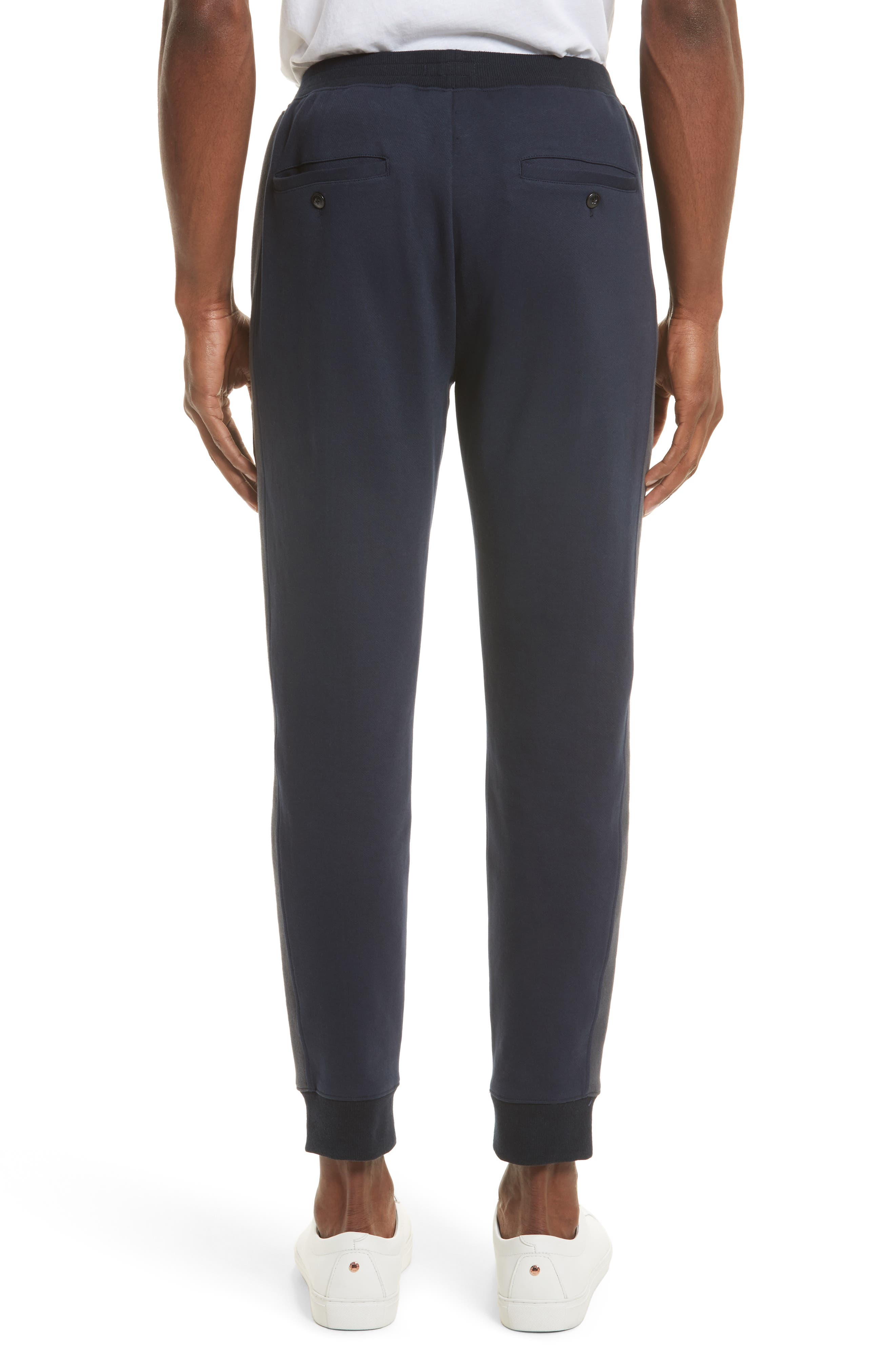 Double Knit Jogger Pants,                             Alternate thumbnail 3, color,                             410