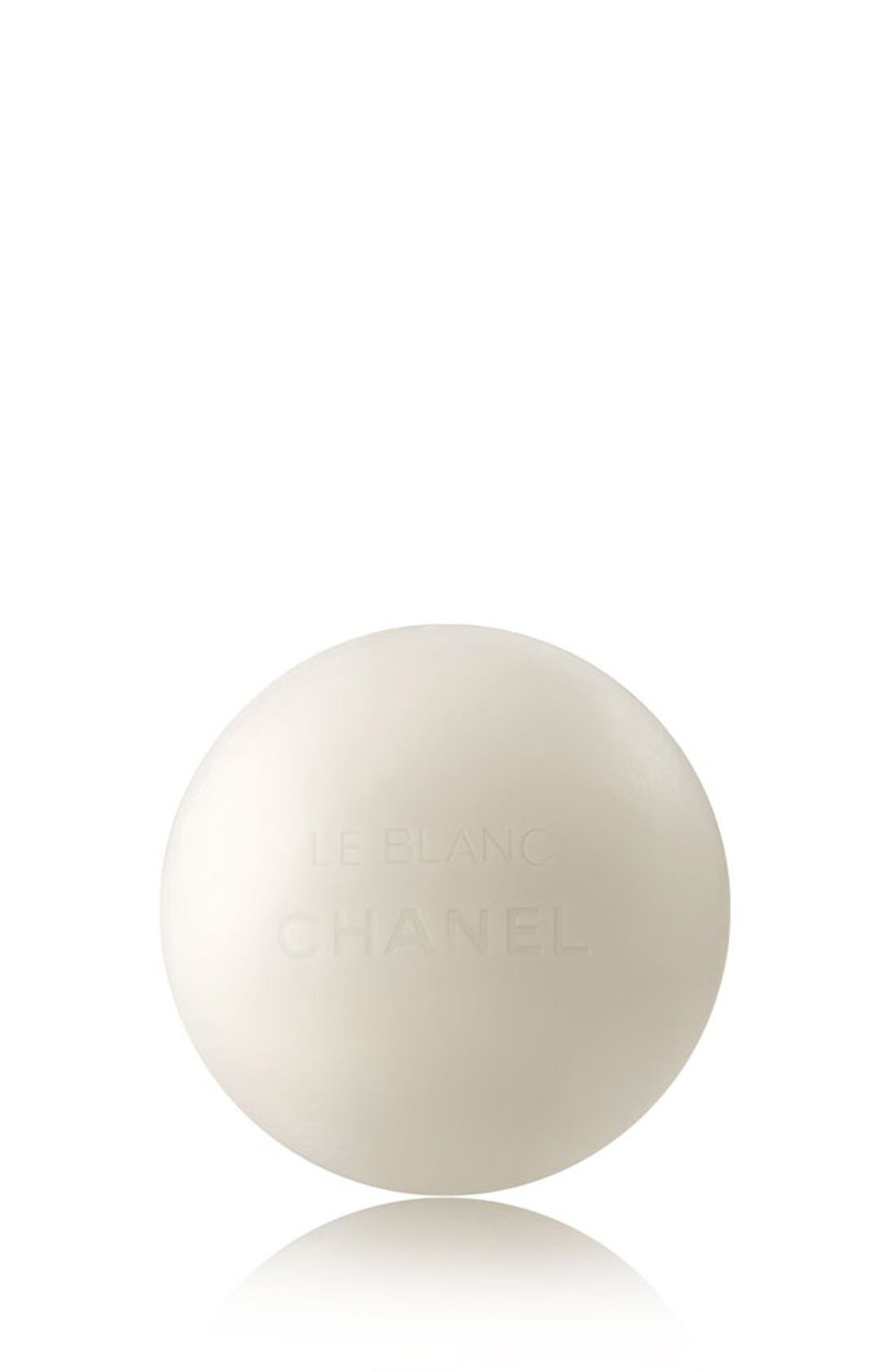 CHANEL LE BLANC BRIGHTENING PEARL<br />Soap Makeup Remover-Cleanser, Main, color, NO COLOR