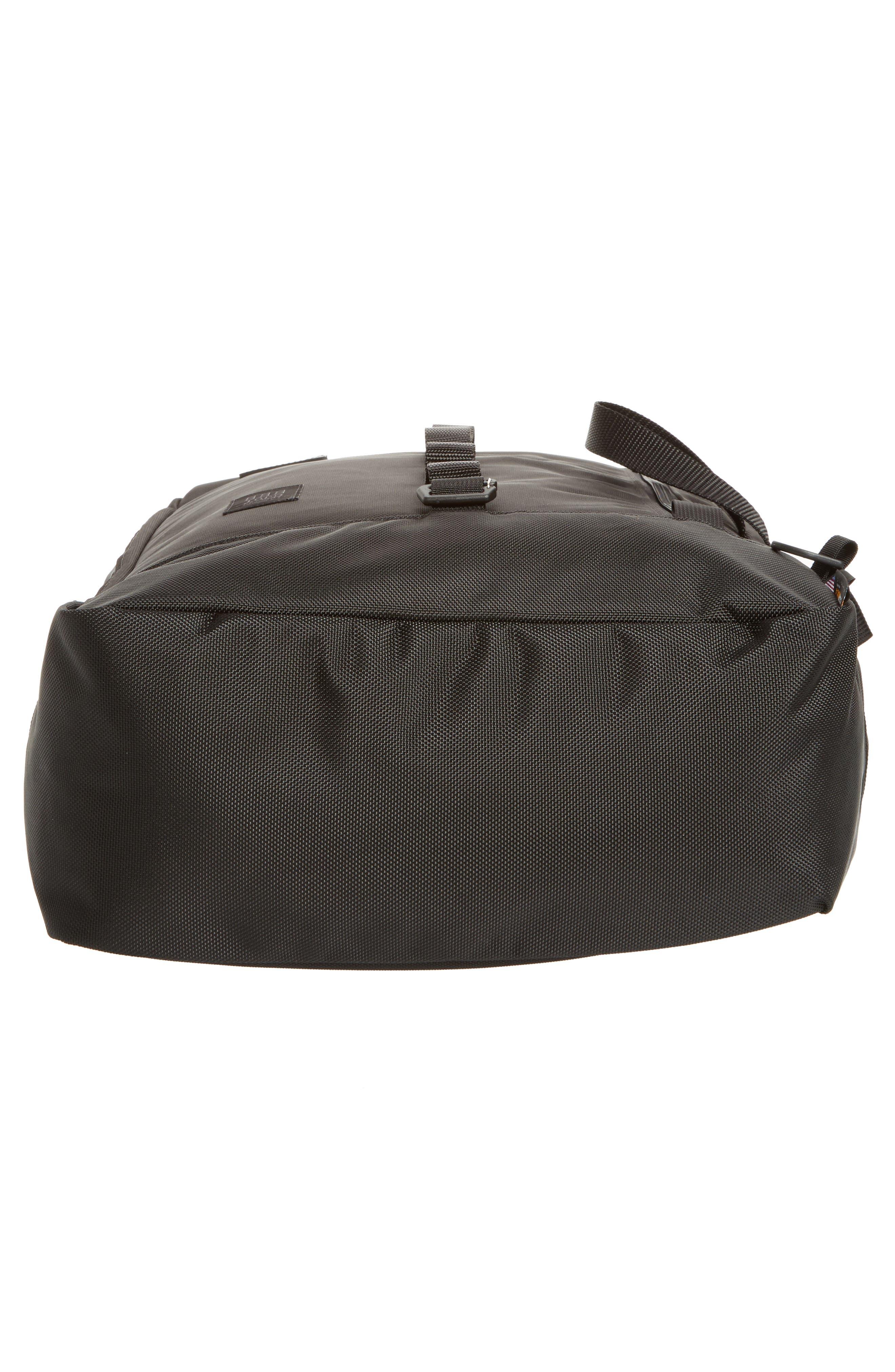 Travel Backpack,                             Alternate thumbnail 6, color,                             BALLISTIC BLACK