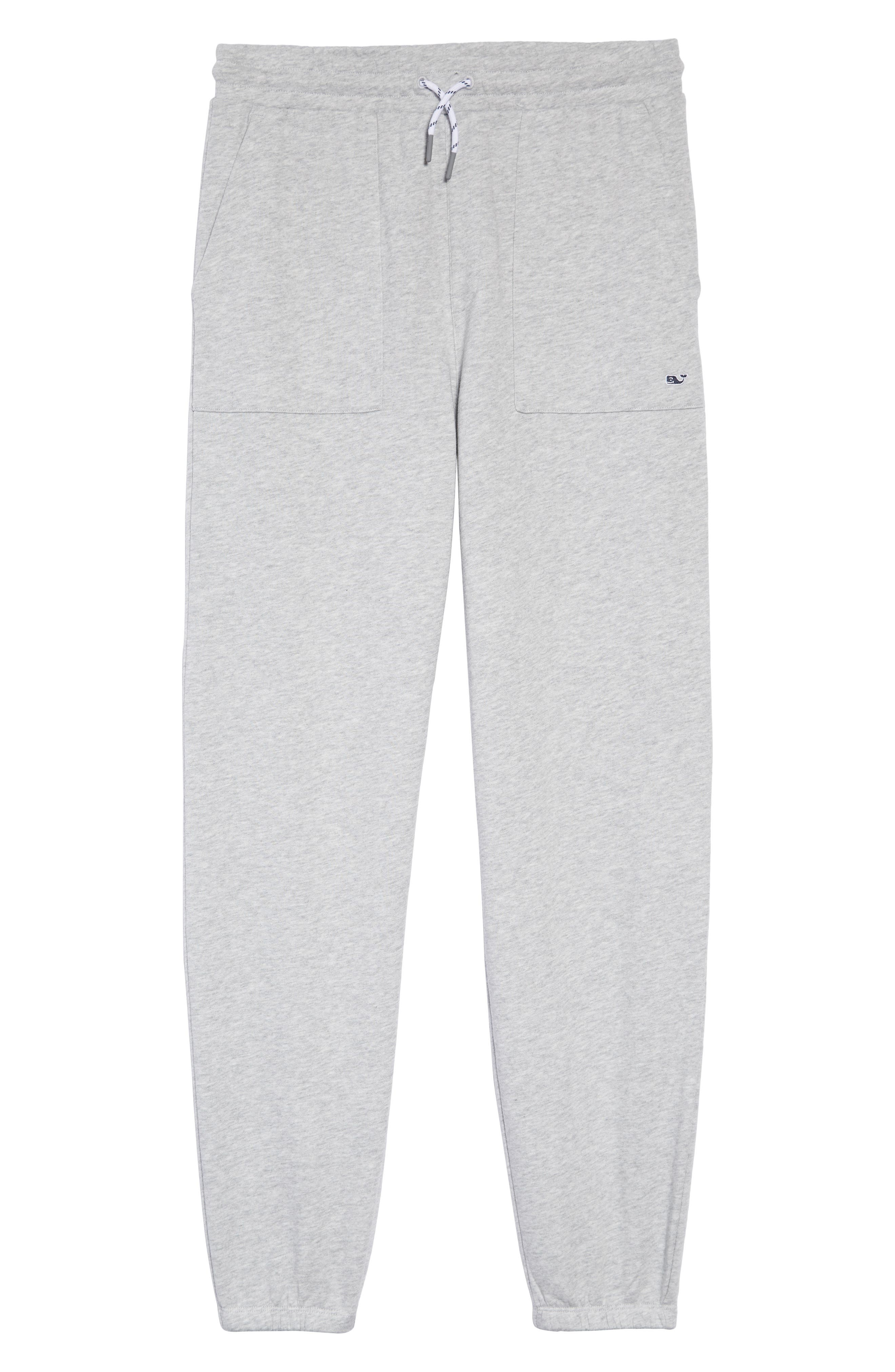 Heritage Terry Jogger Pants,                         Main,                         color, GRAY HEATHER