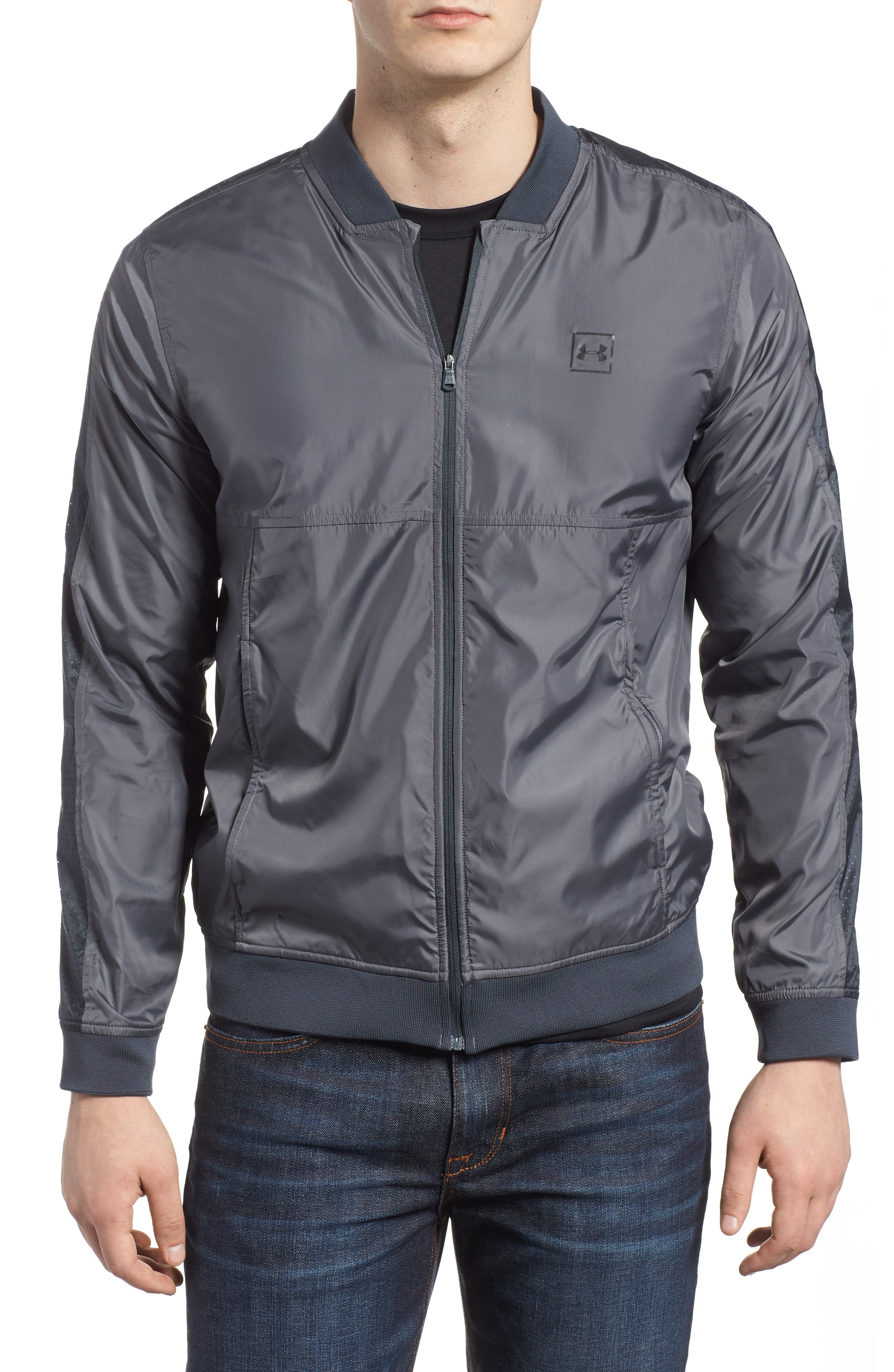 Sportstyle Wind Bomber Jacket,                             Main thumbnail 1, color,                             030