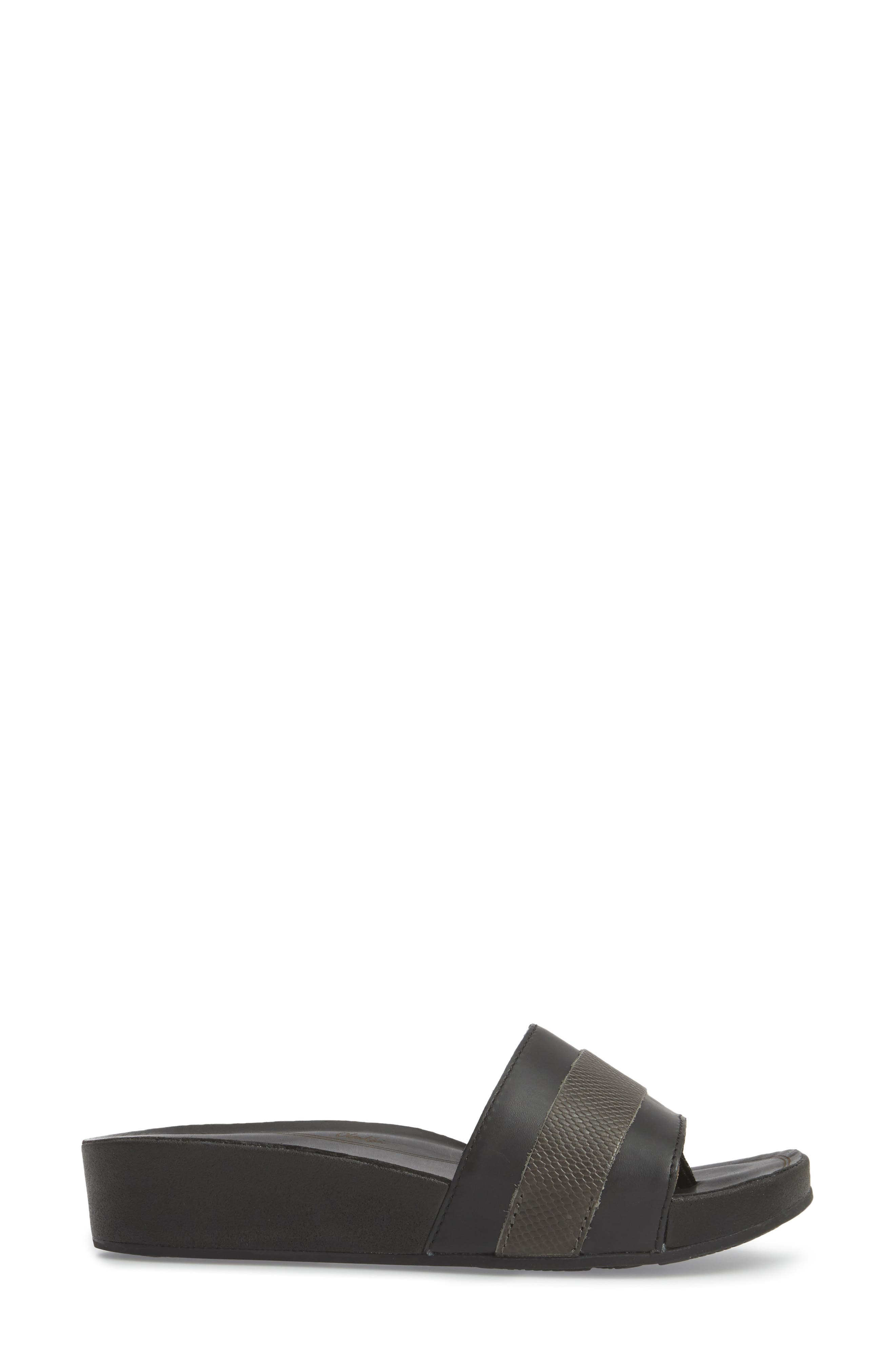 Ola Huna Wedge Sandal,                             Alternate thumbnail 3, color,                             020