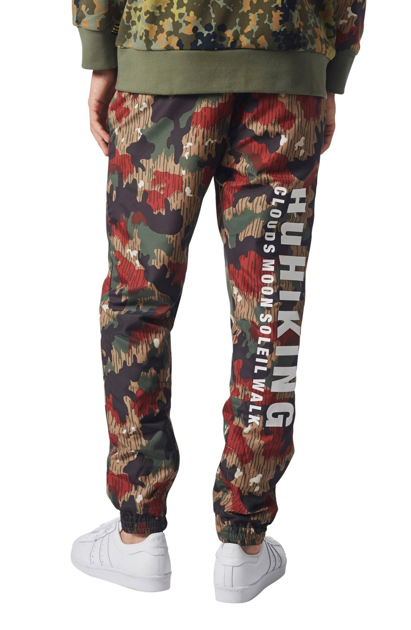 Originals Pharrell Williams Hu Hiking Wind Pants,                             Alternate thumbnail 2, color,