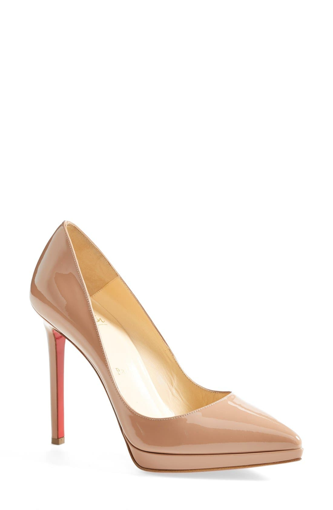 'Pigalle Plato' Pointy Toe Pump,                             Main thumbnail 2, color,