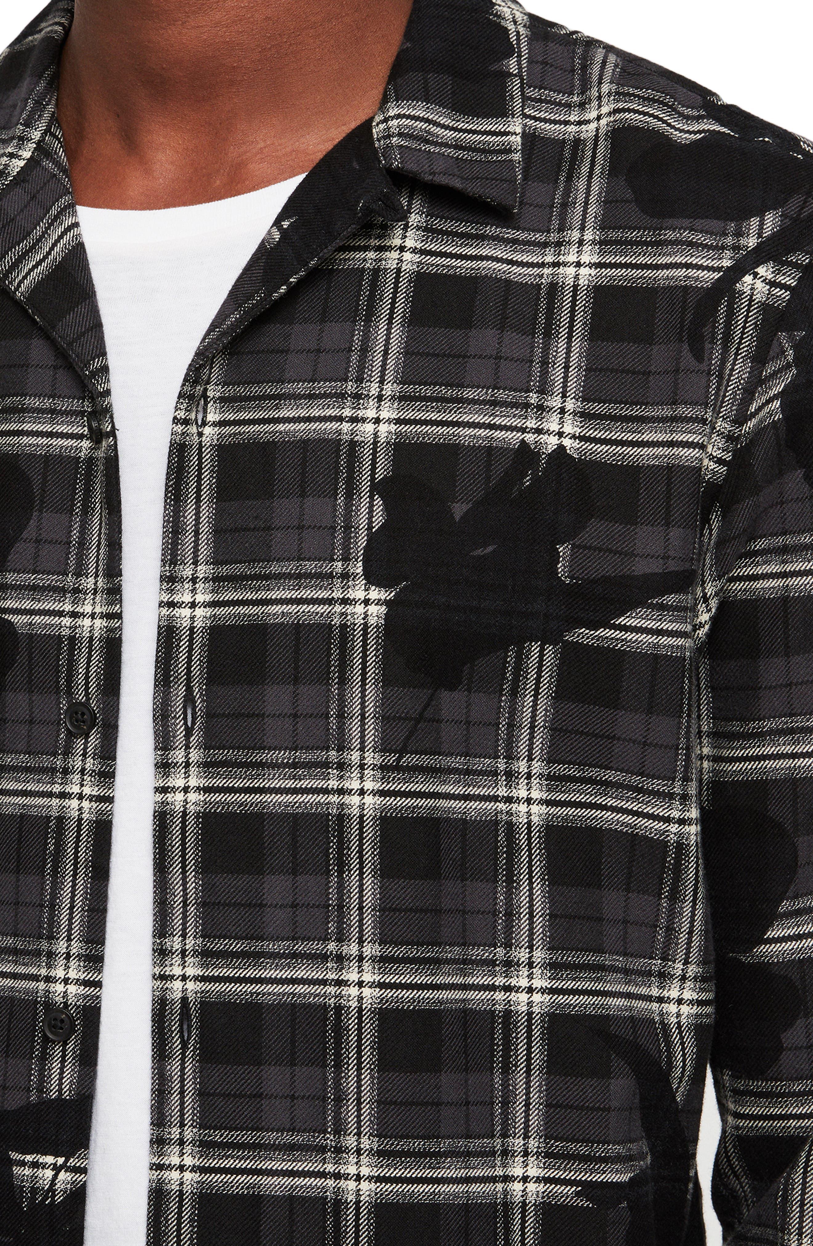 Lilyplaid Slim Fit Flannel Shirt,                             Alternate thumbnail 2, color,                             001