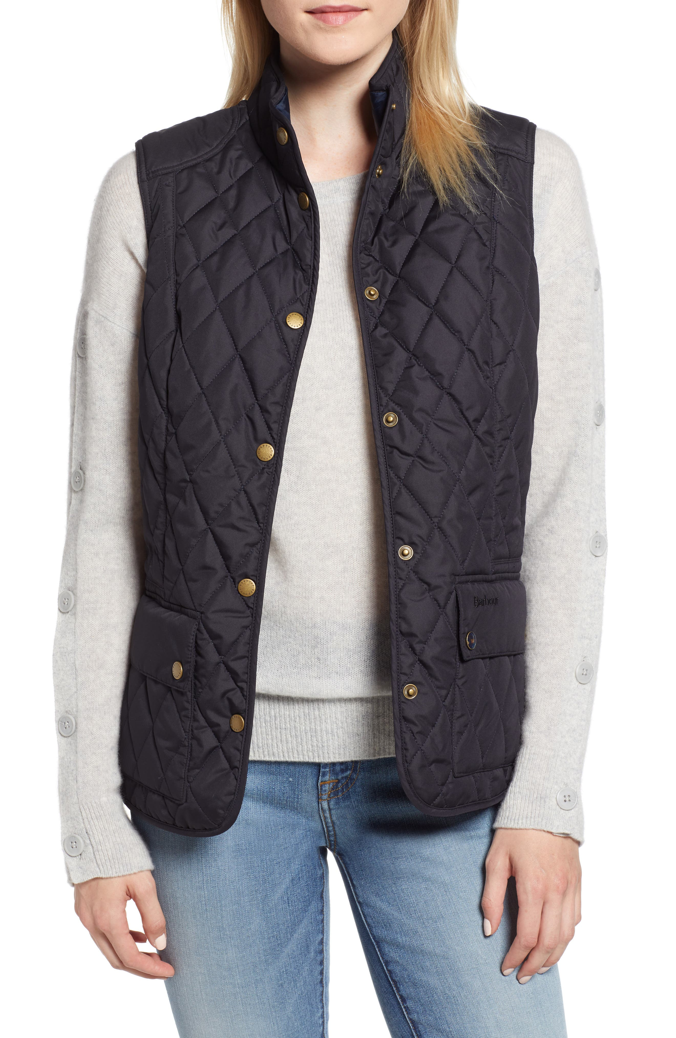 BARBOUR | Women's Barbour Saddleworth Quilted Vest, | Goxip
