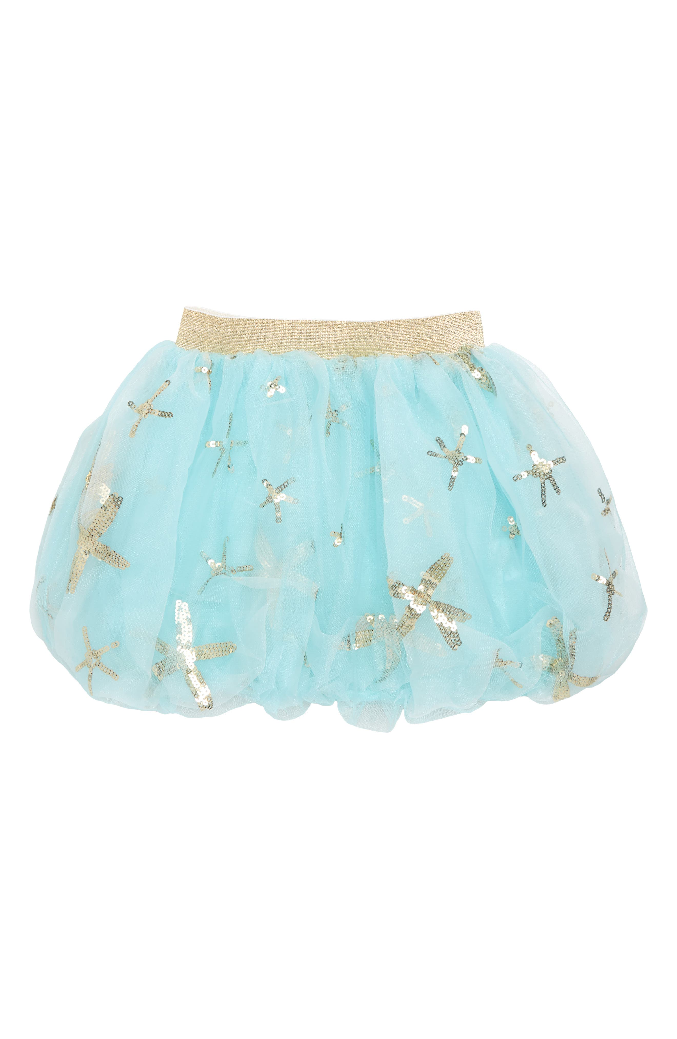 Starfish Bubble Tulle Skirt,                         Main,                         color, 408