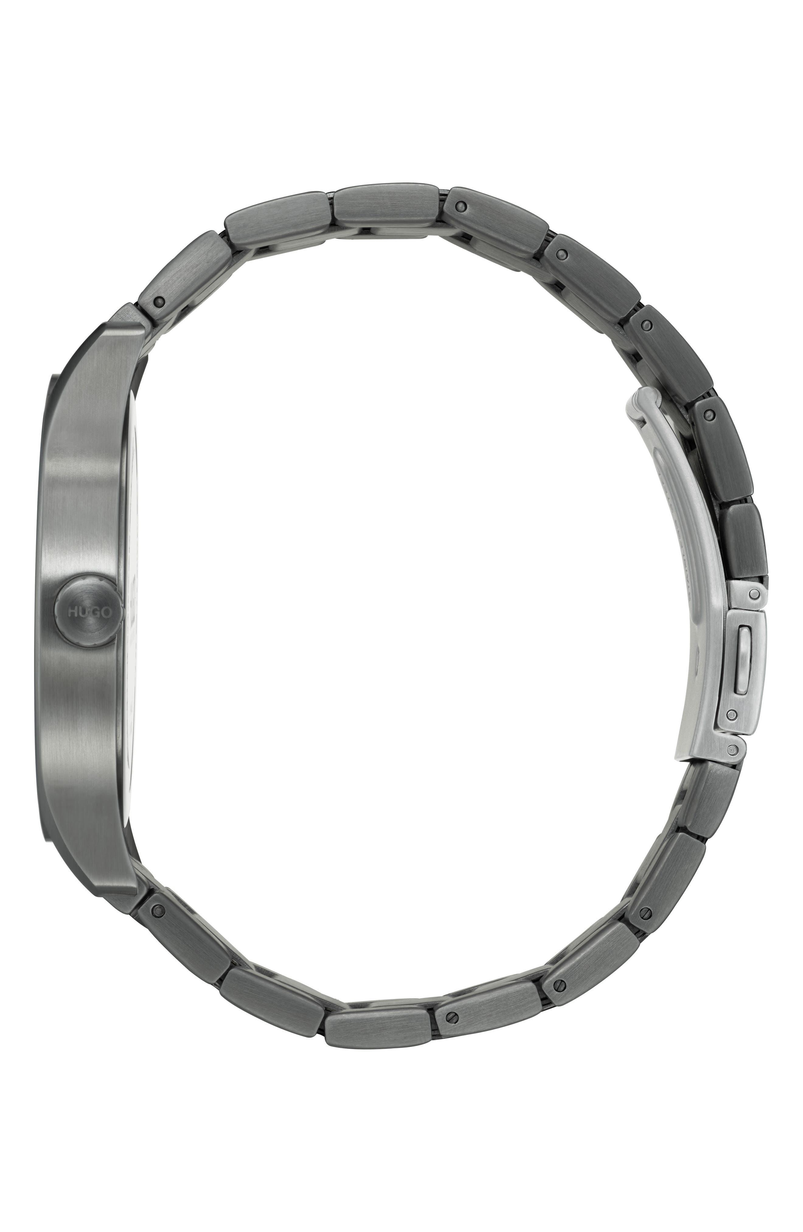 Bracelet Watch, 42mm,                             Alternate thumbnail 3, color,                             040