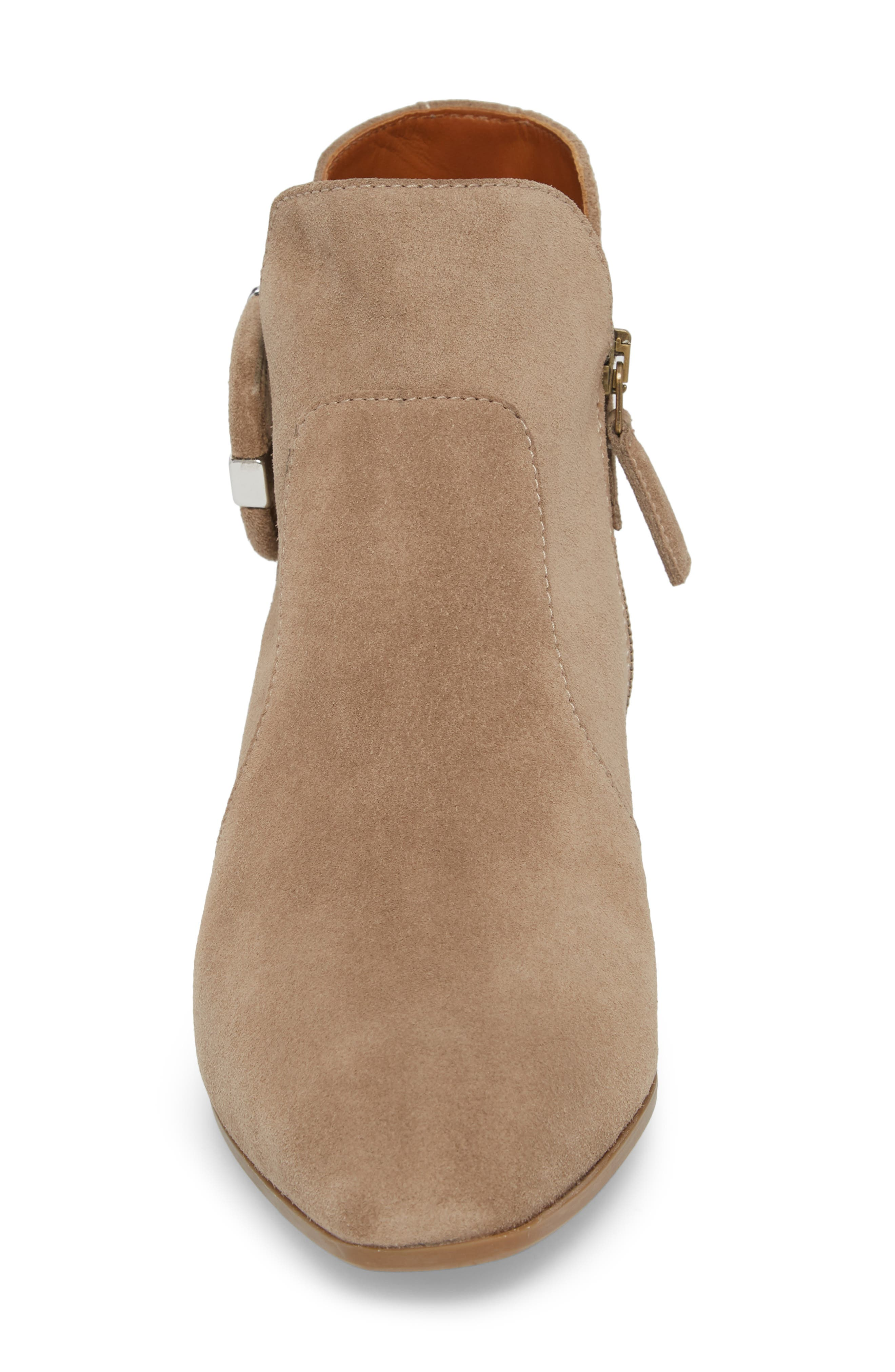 Fiamma Water Resistant Bootie,                             Alternate thumbnail 4, color,                             TAUPE