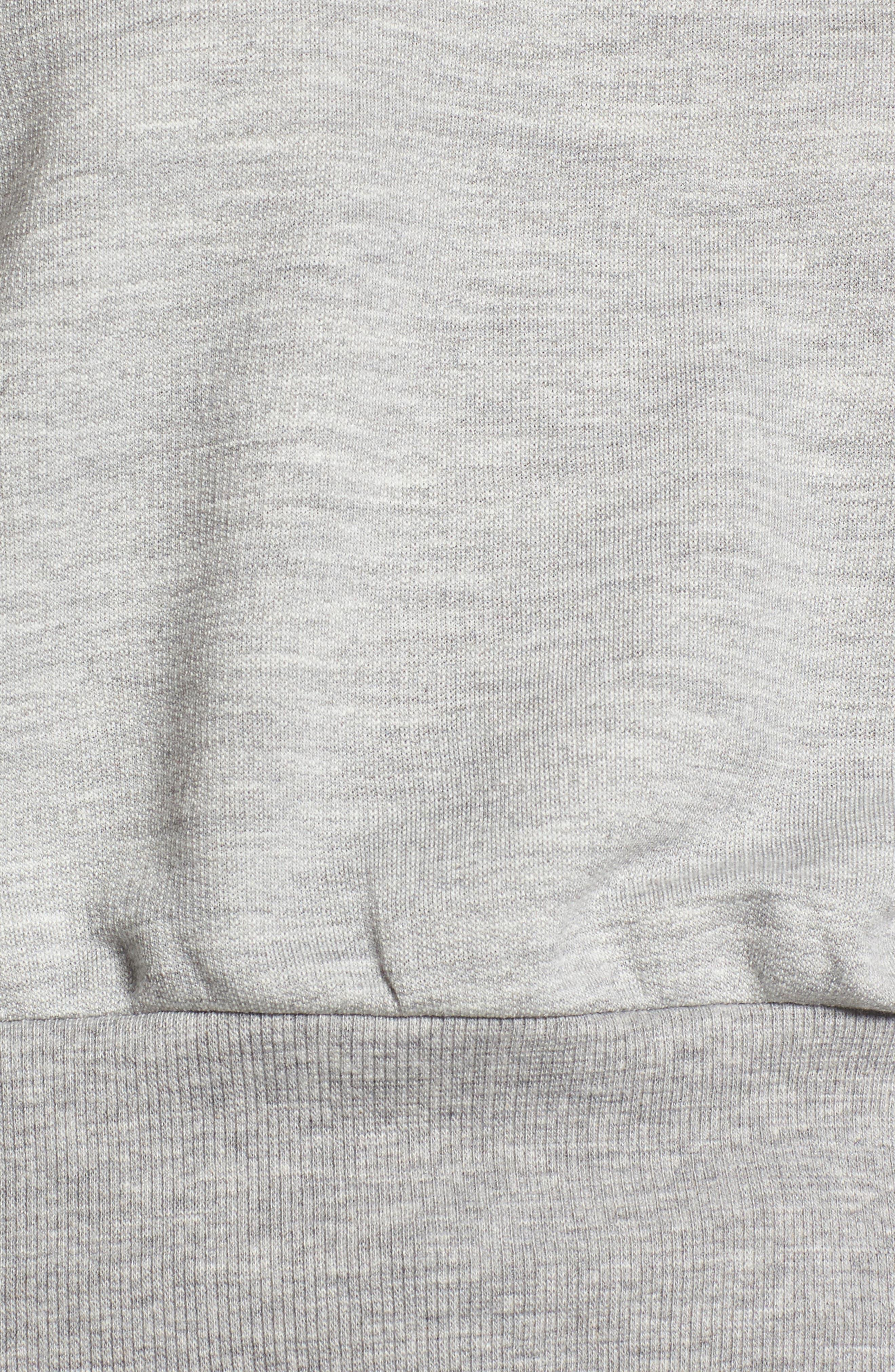 Ruched Sleeve Sweatshirt,                             Alternate thumbnail 15, color,