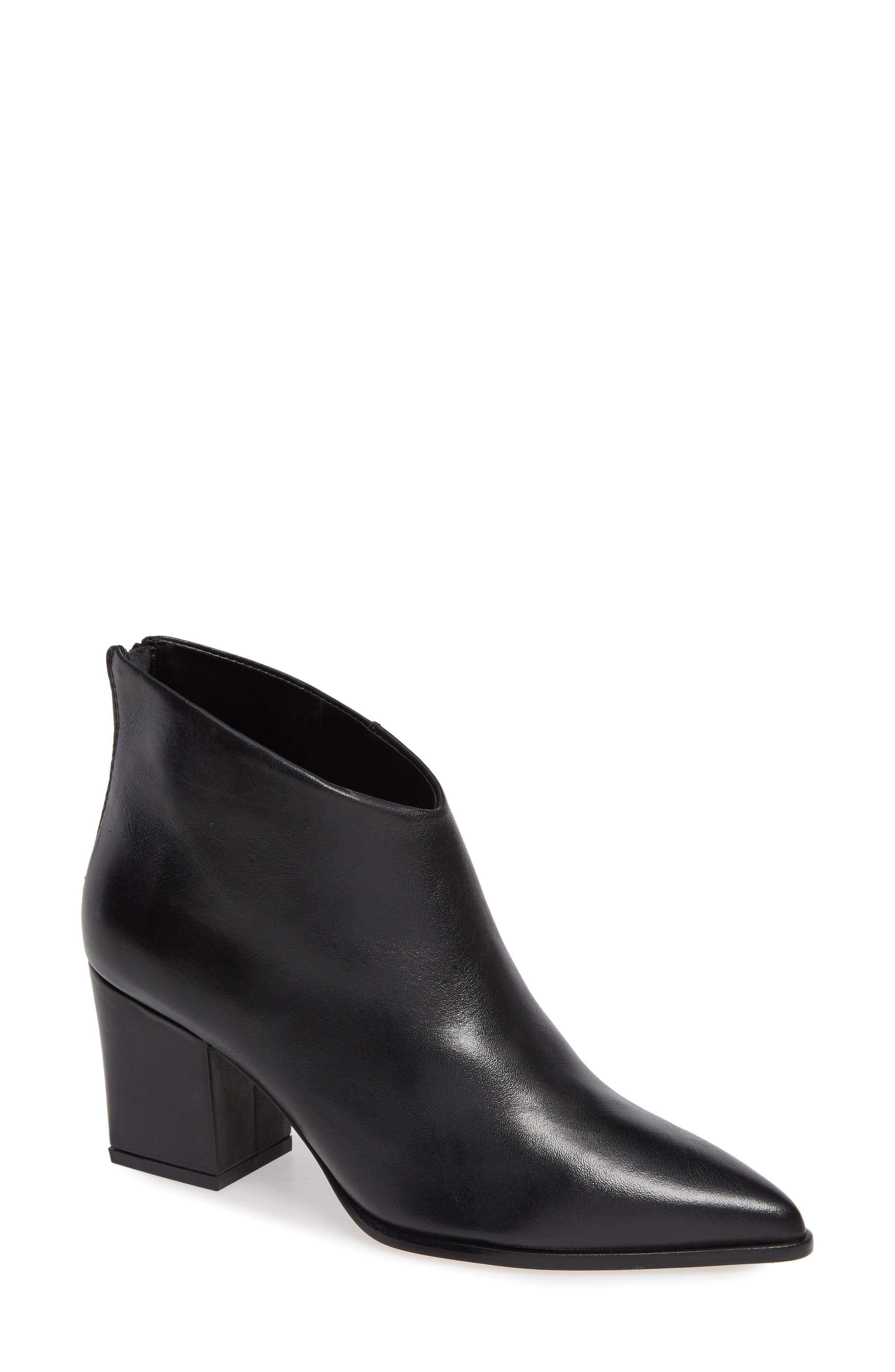 LUST FOR LIFE Twilight Bootie in Black Leather