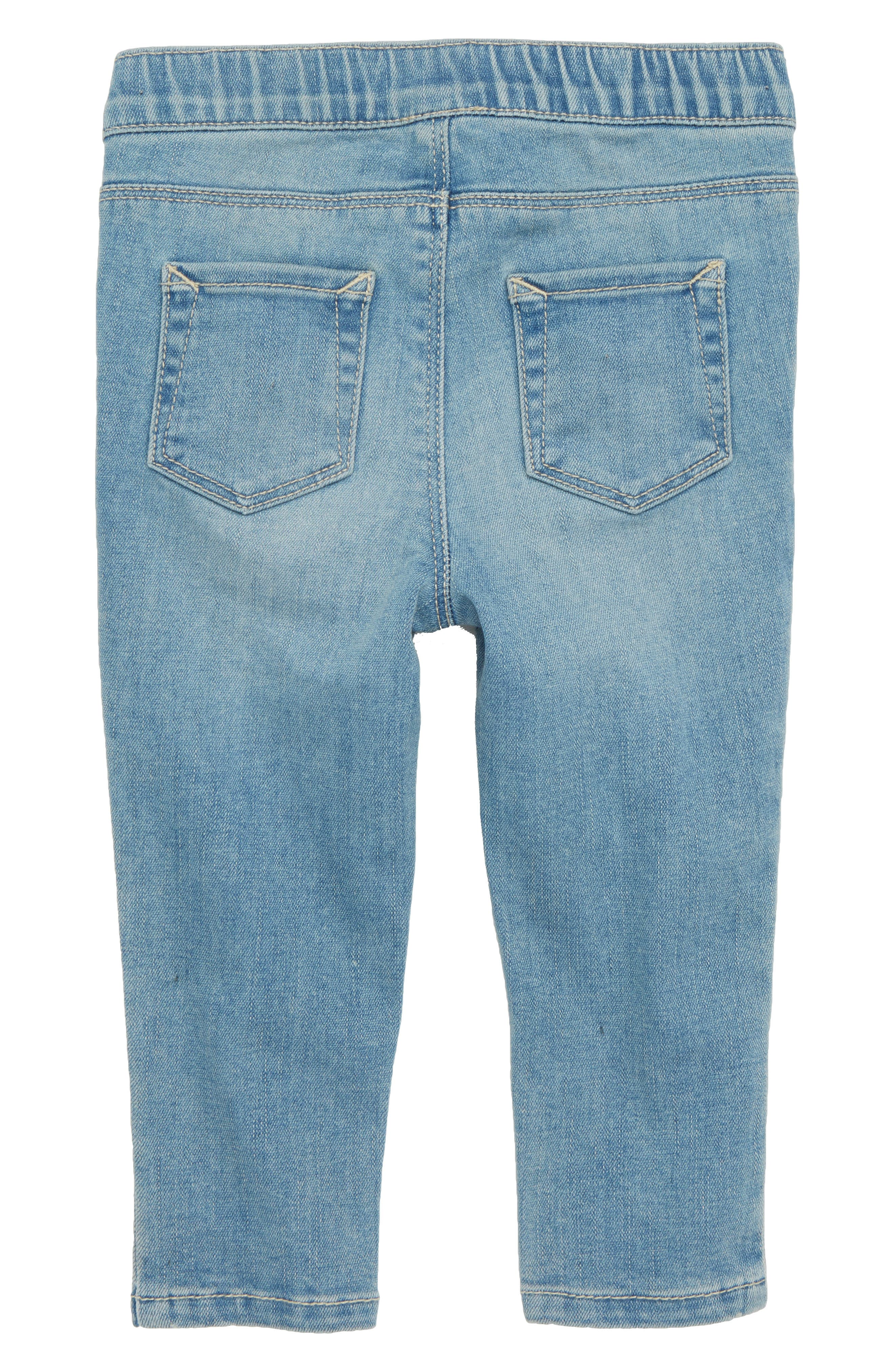 Star Patch Skinny Jeans,                             Alternate thumbnail 2, color,                             450