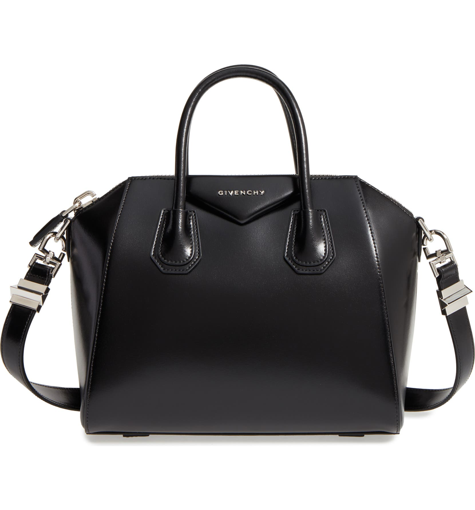 903d990571f1 Givenchy Small Antigona Box Leather Satchel