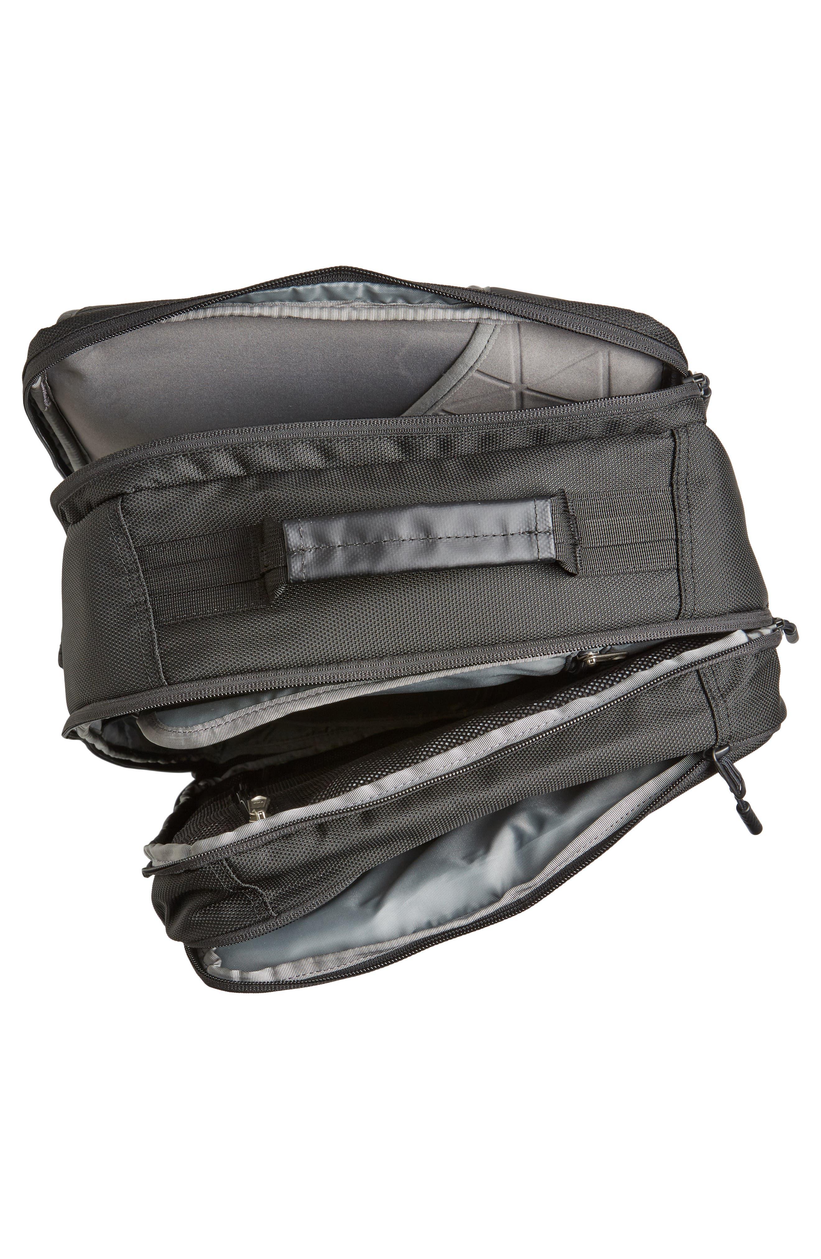 Refractor Duffel Backpack,                             Alternate thumbnail 4, color,                             001