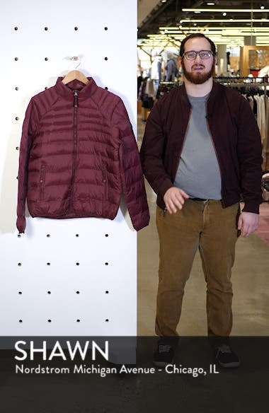 Mitchell Quiilted Nylon Jacket, sales video thumbnail
