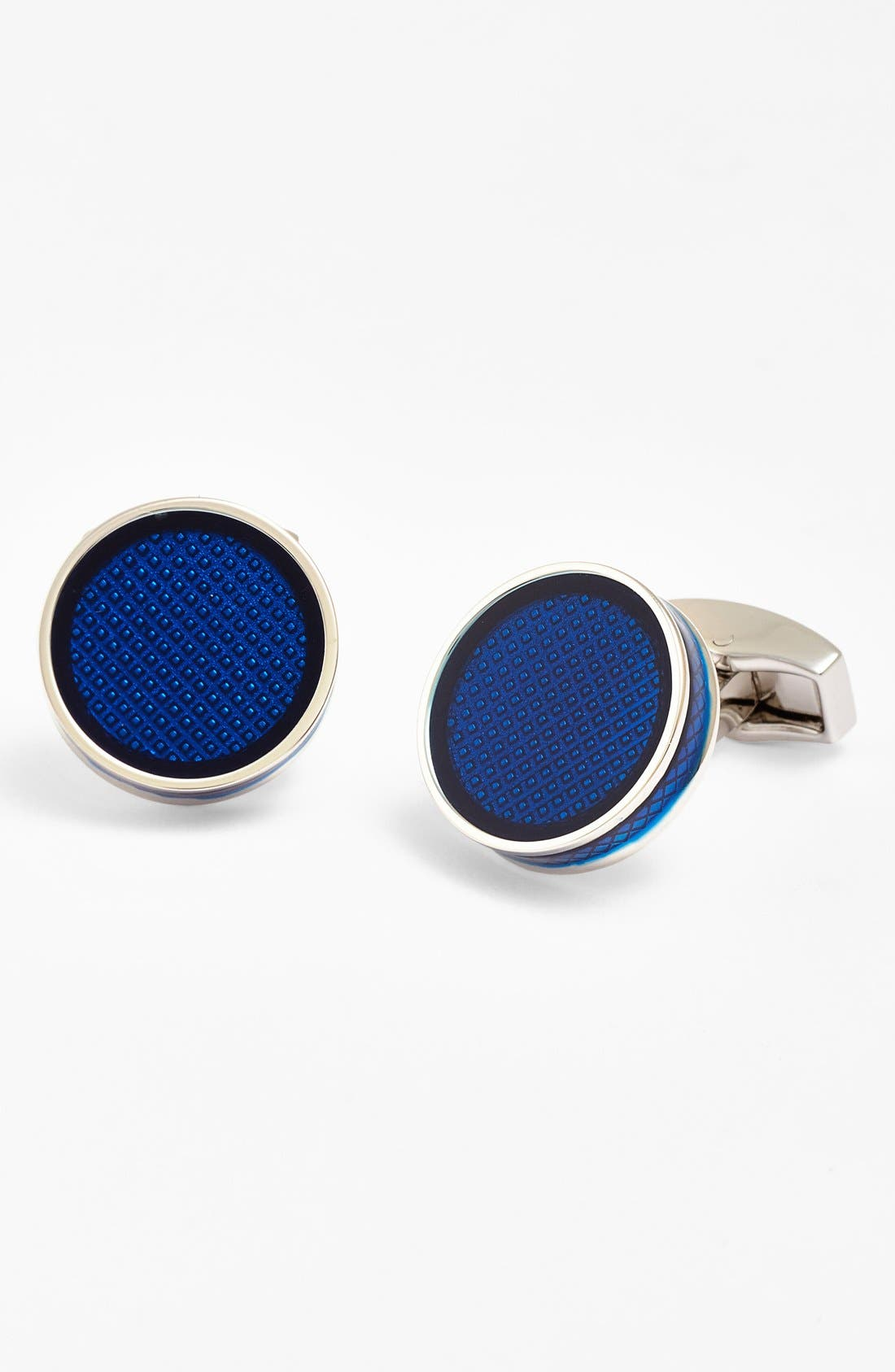Enamel Tablet Cuff Links,                             Main thumbnail 1, color,                             040