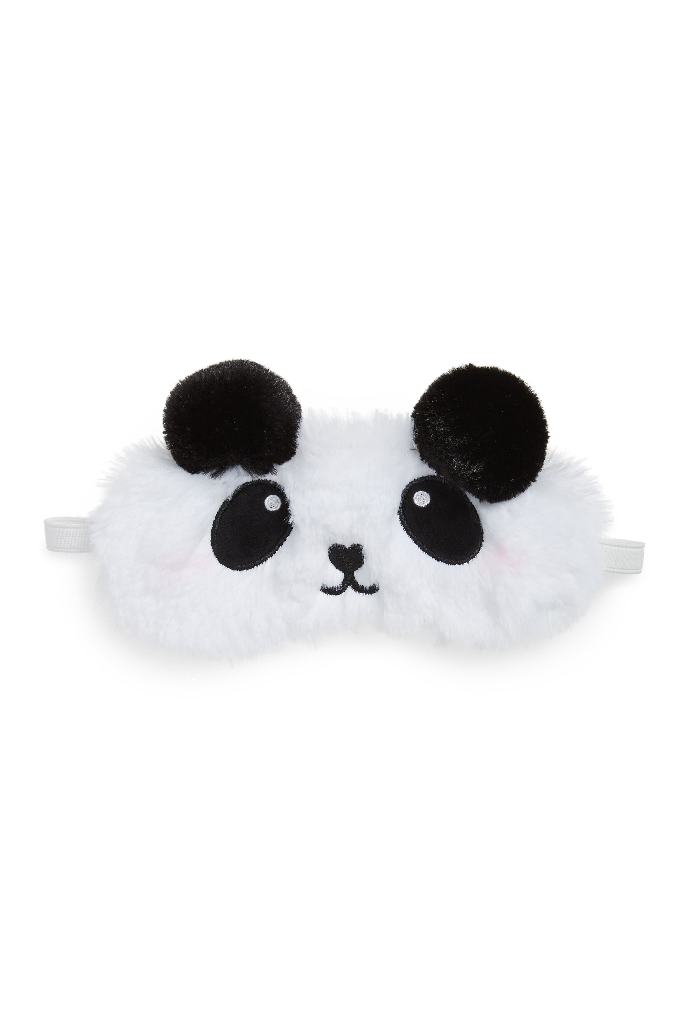 Panda Spa Eye Mask,                         Main,                         color, 100