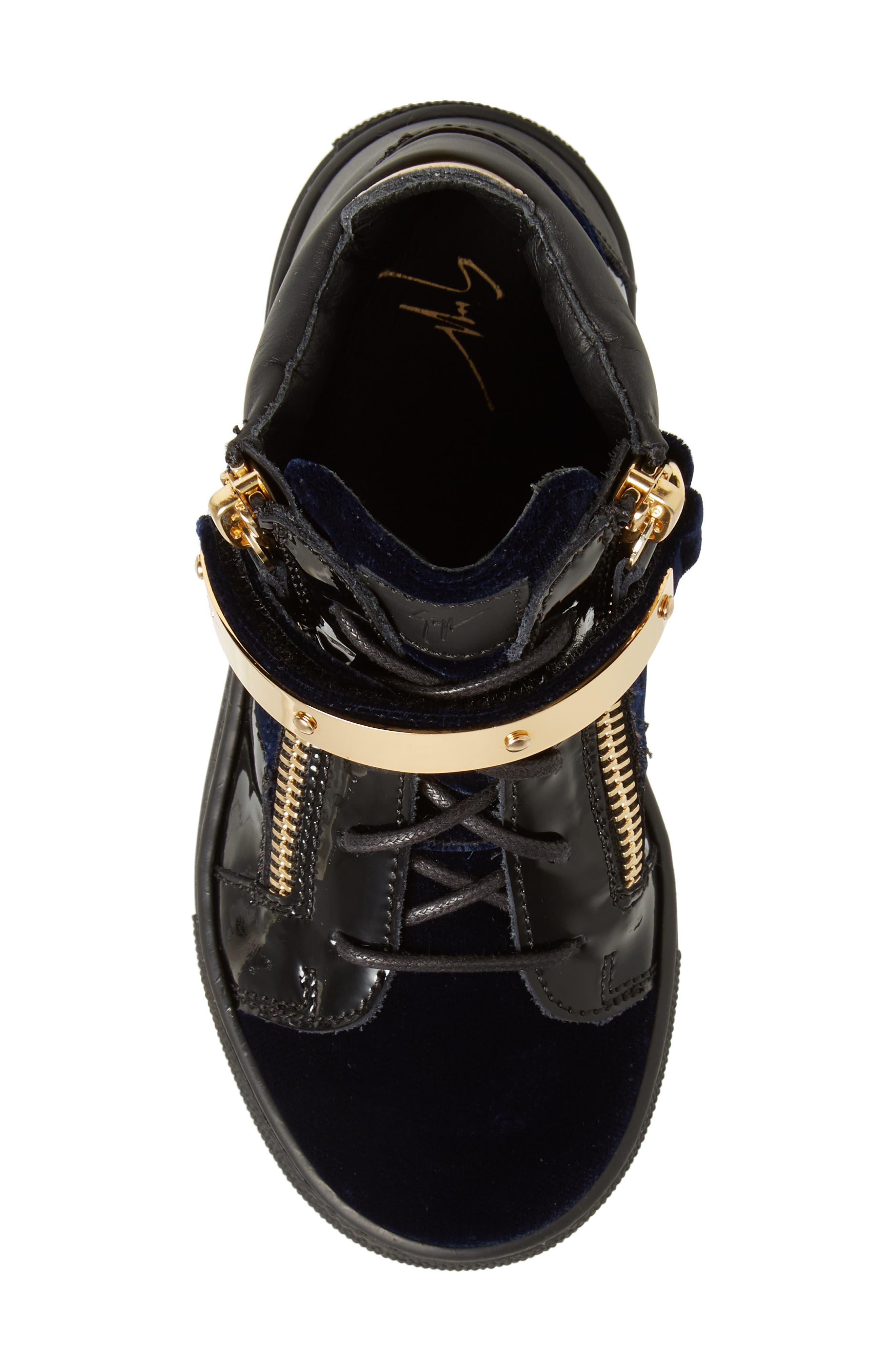Gomma London Sneaker,                             Alternate thumbnail 5, color,