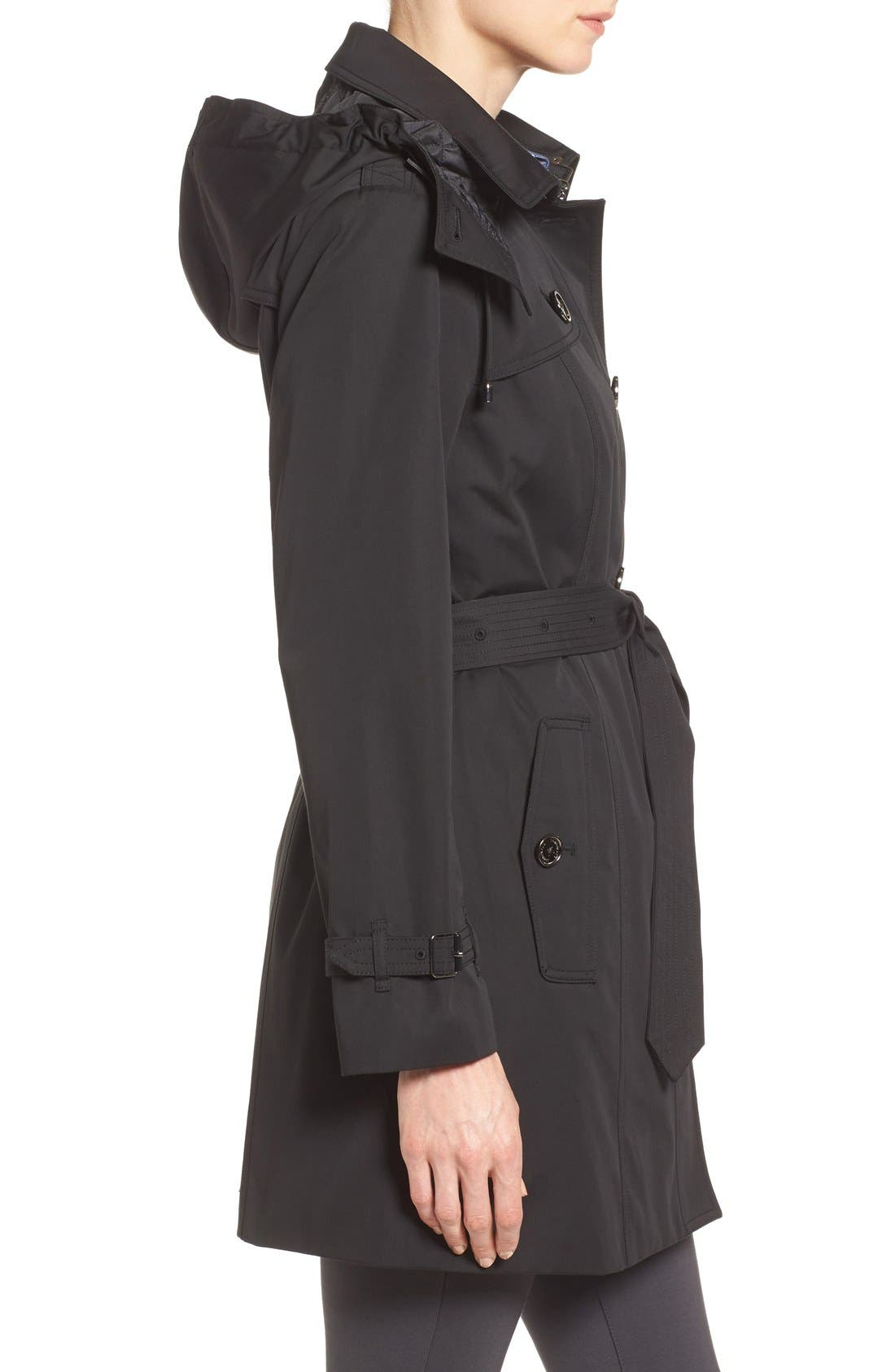 Single Breasted Trench Coat,                             Alternate thumbnail 5, color,