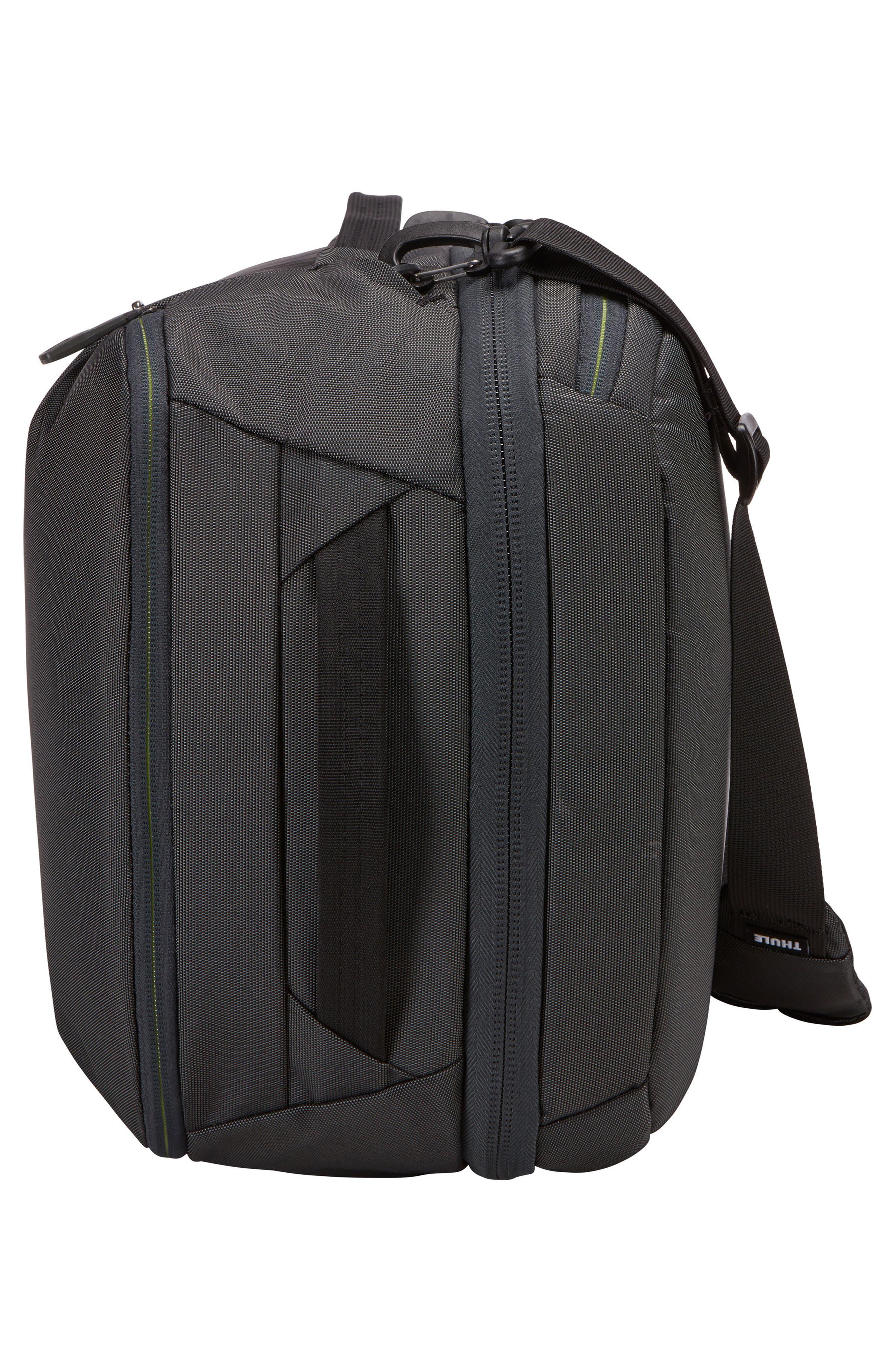 Subterra 40-Liter Convertible Duffel Bag,                             Alternate thumbnail 3, color,                             DARK SHADOW