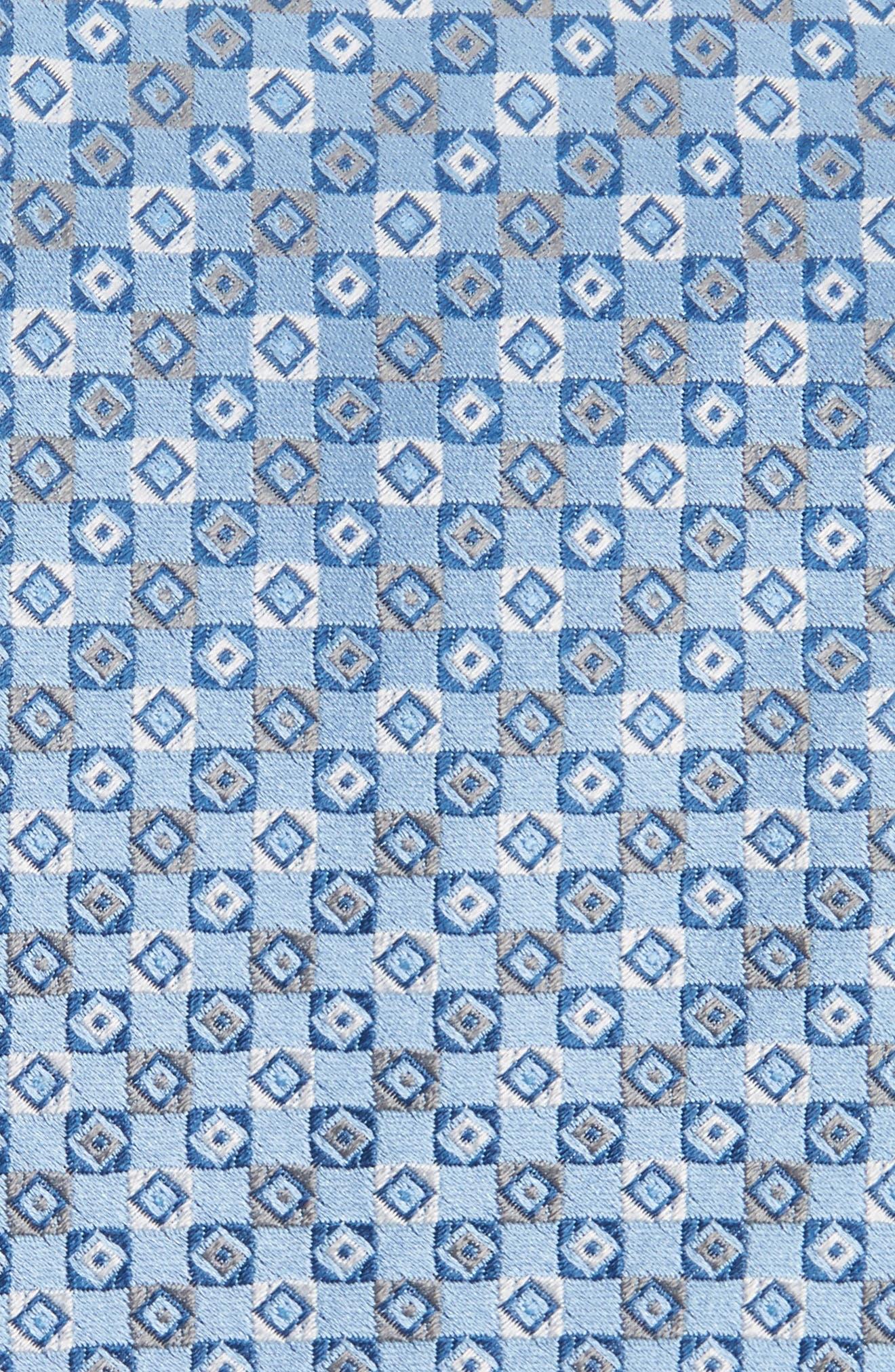 Geometric Silk Tie,                             Alternate thumbnail 6, color,