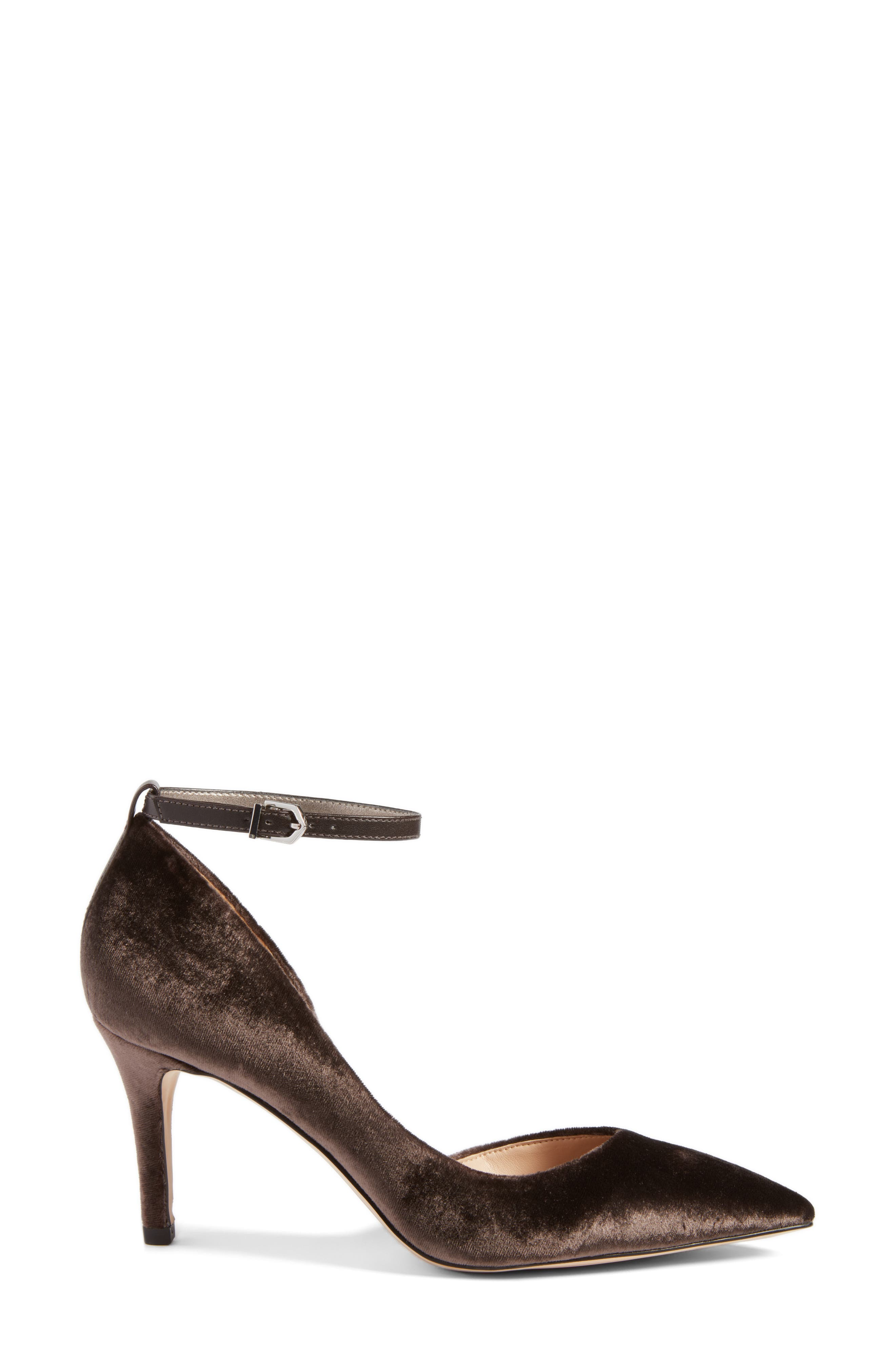 Tia Genuine Calf Hair Pump,                             Alternate thumbnail 3, color,                             023