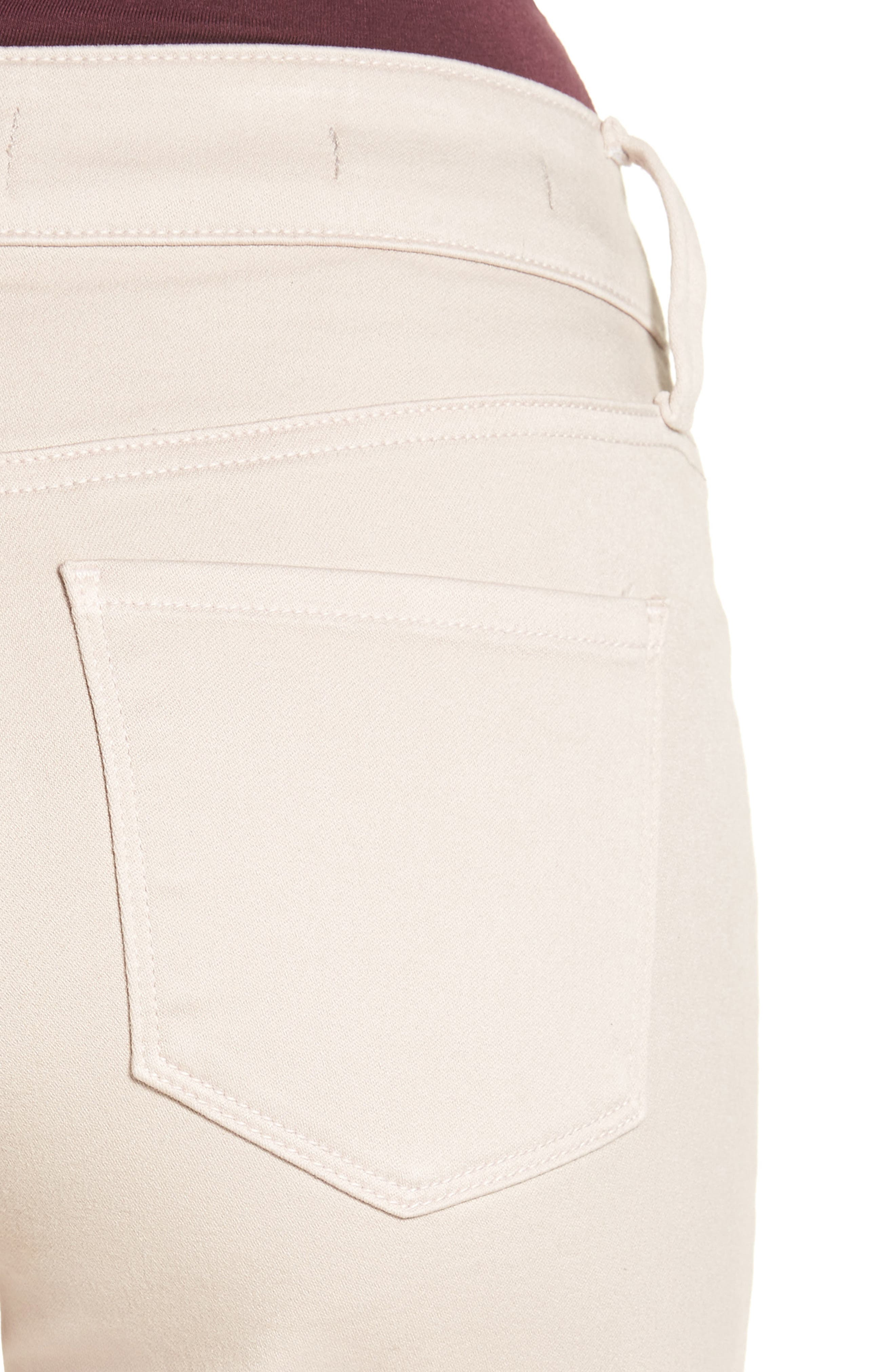 'Sheri' Stretch Twill Slim Leg Pants,                             Alternate thumbnail 11, color,