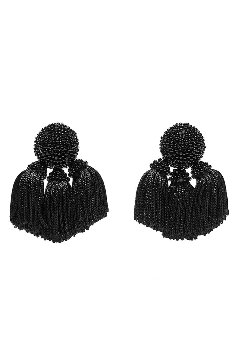 Sachin & Babi NOIR MINI CHA CHA DROP EARRINGS