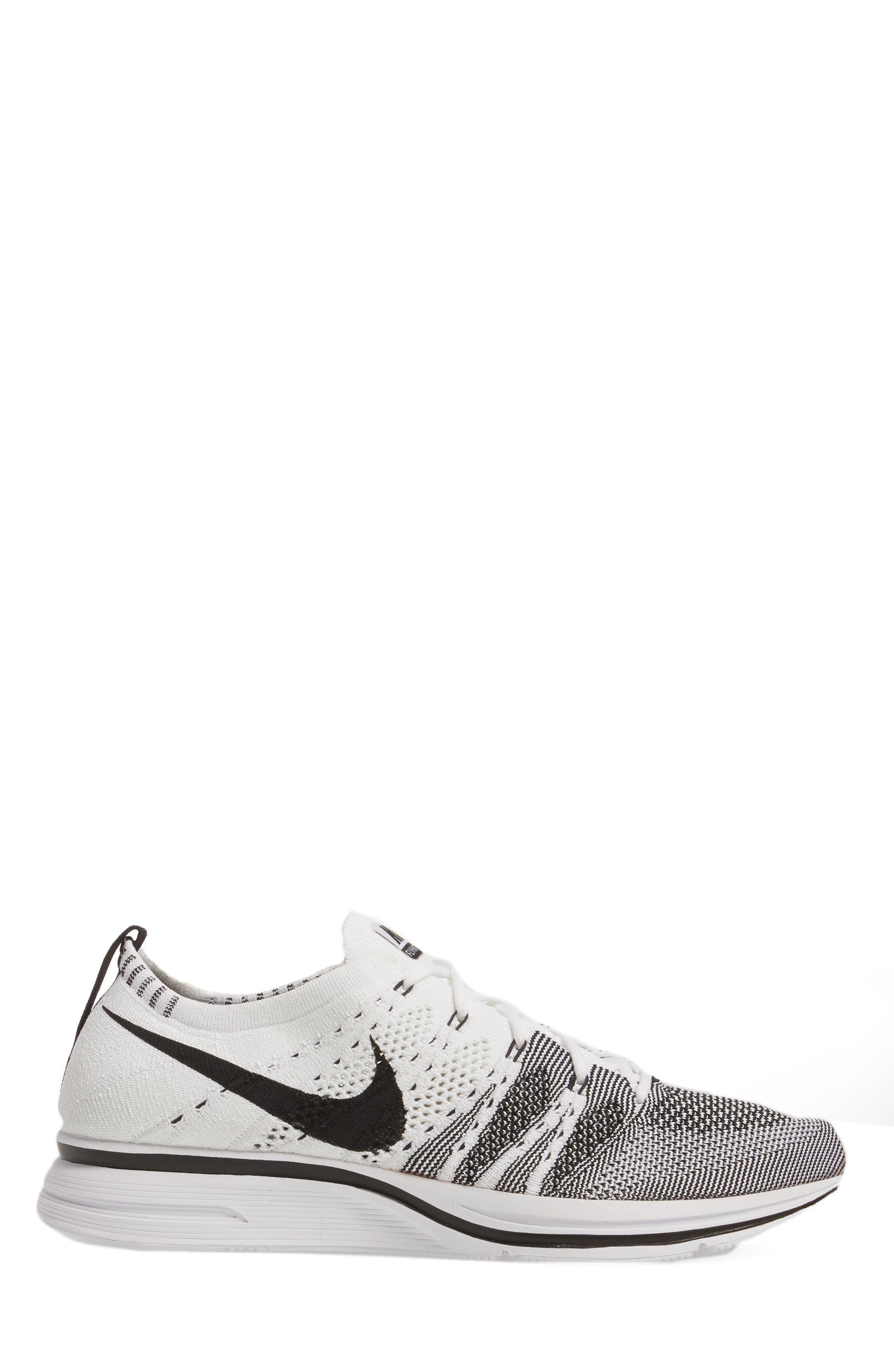 NikeLab Flyknit Trainer Sneaker,                             Alternate thumbnail 3, color,                             100