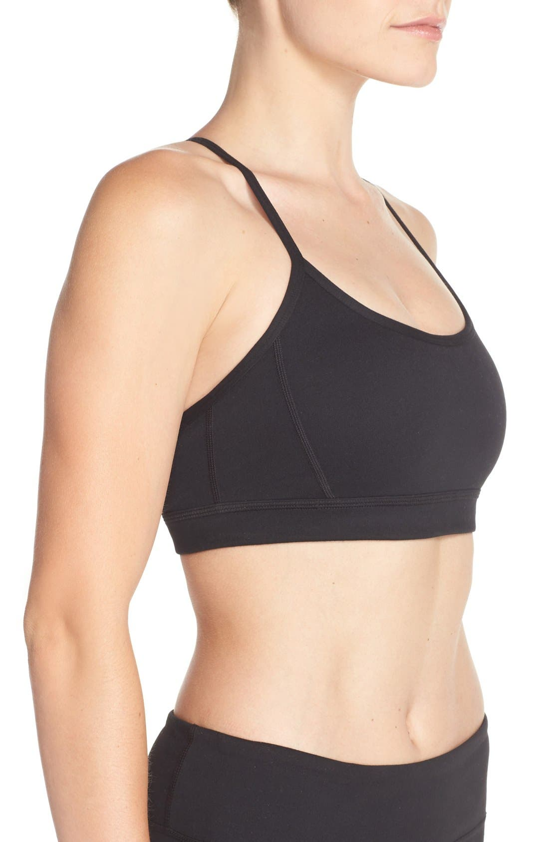 'Cupid' Sports Bra,                             Alternate thumbnail 2, color,                             001