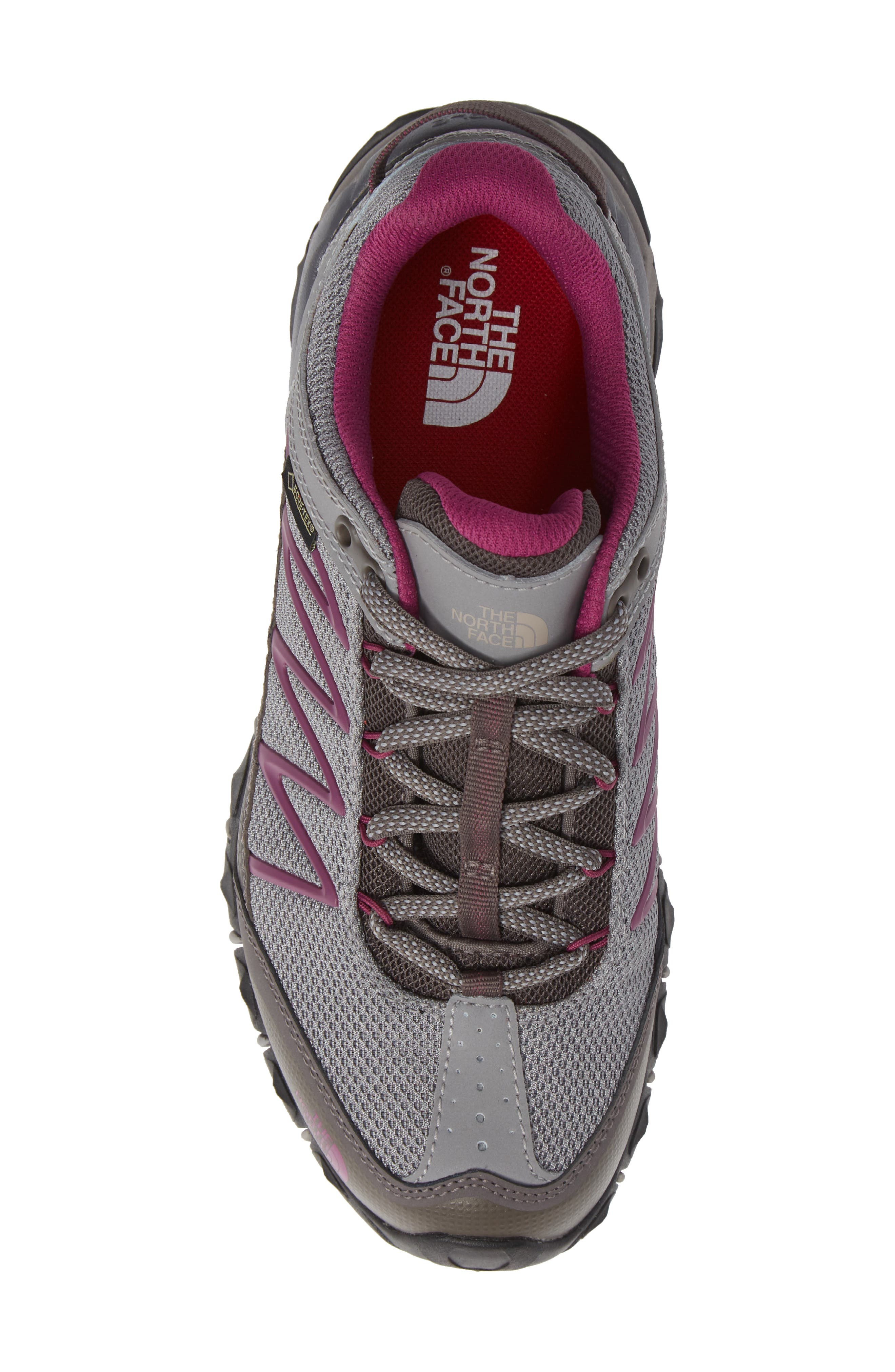 Ultra 110 GTX<sup>®</sup> Hiking Shoe,                             Alternate thumbnail 5, color,                             Q-SILVER GREY/ ASTER PURPLE