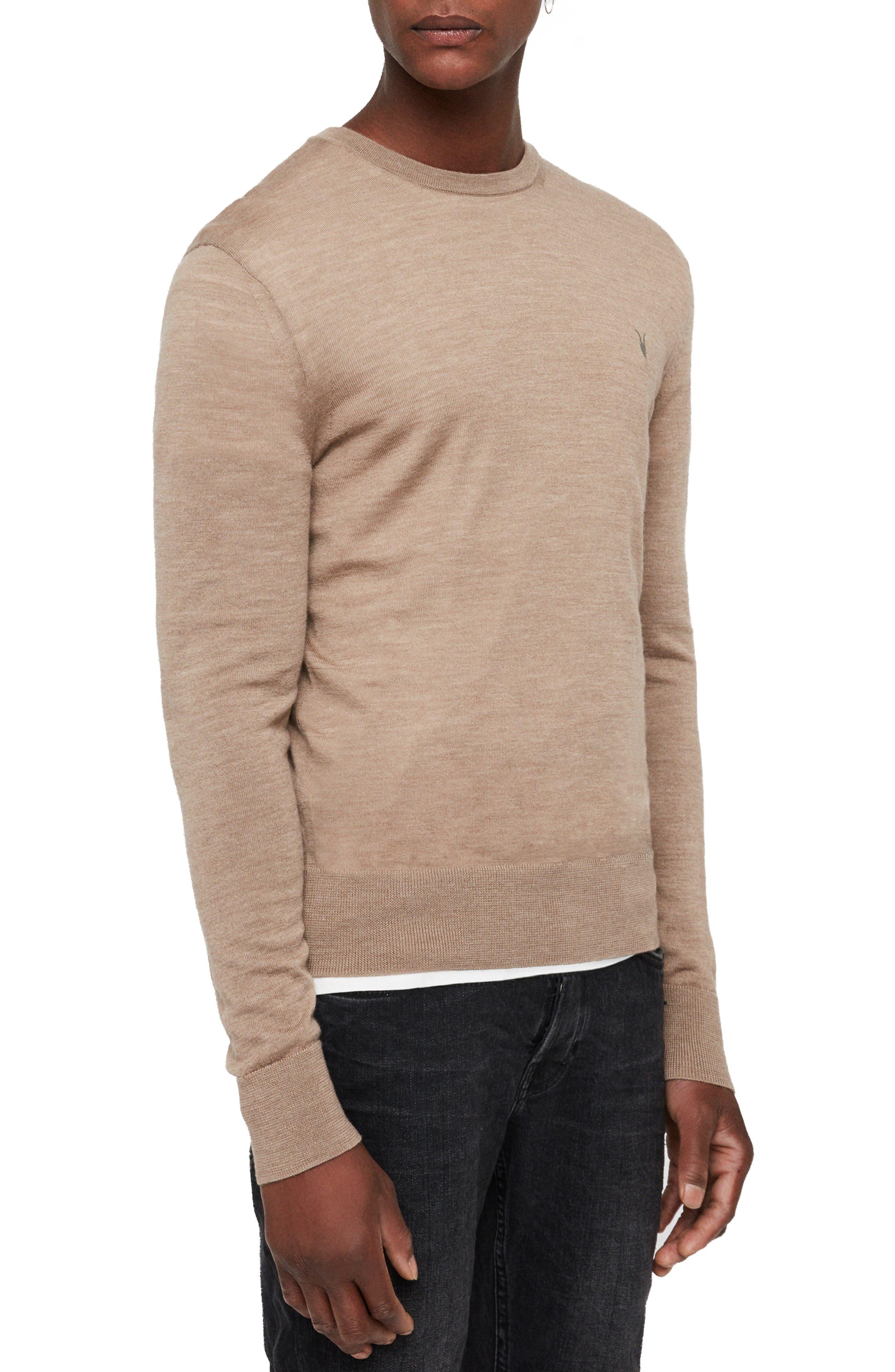 Mode Slim Fit Merino Wool Sweater,                             Alternate thumbnail 19, color,