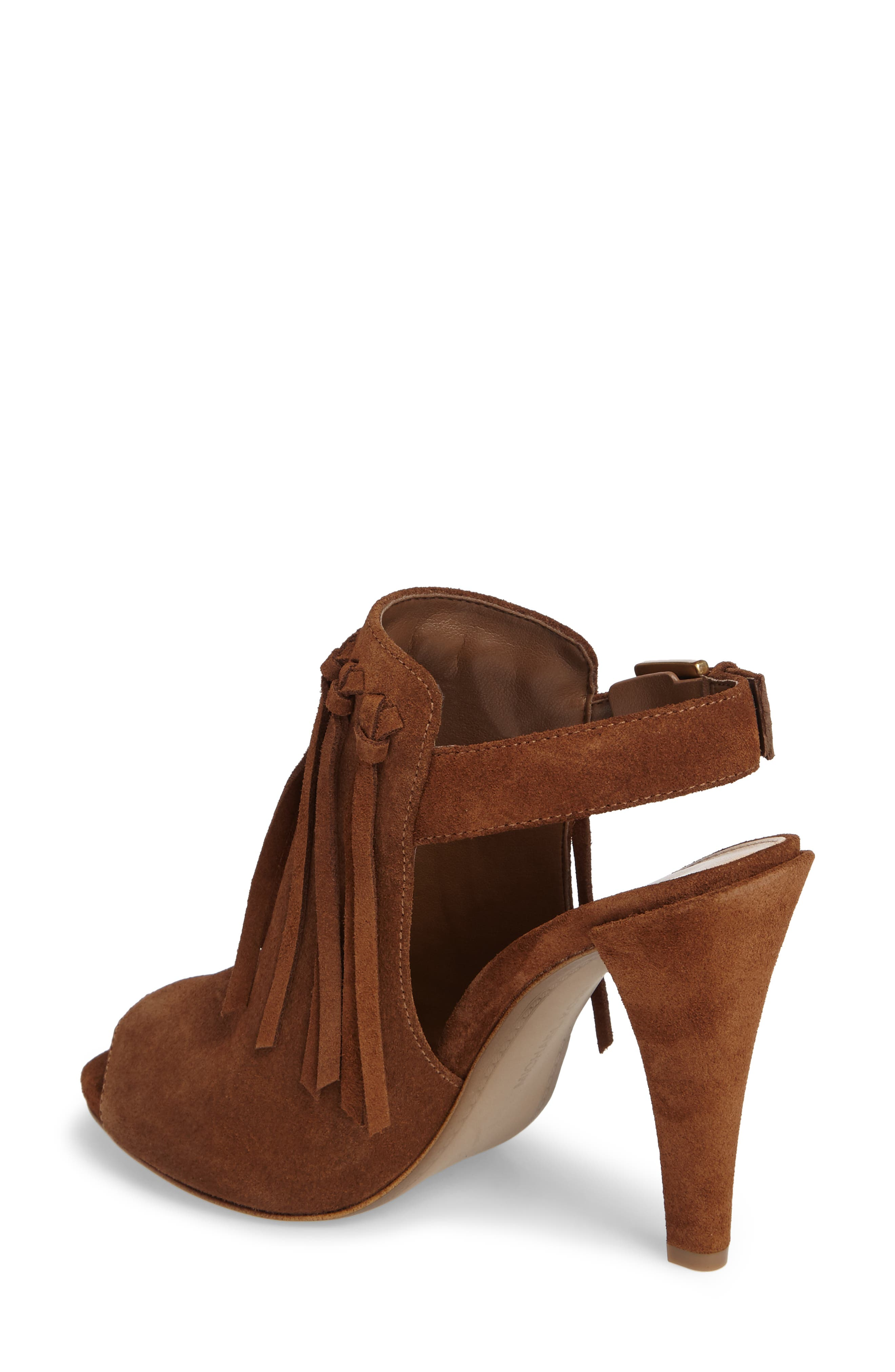 Kassidy Open Toe Bootie,                             Alternate thumbnail 4, color,