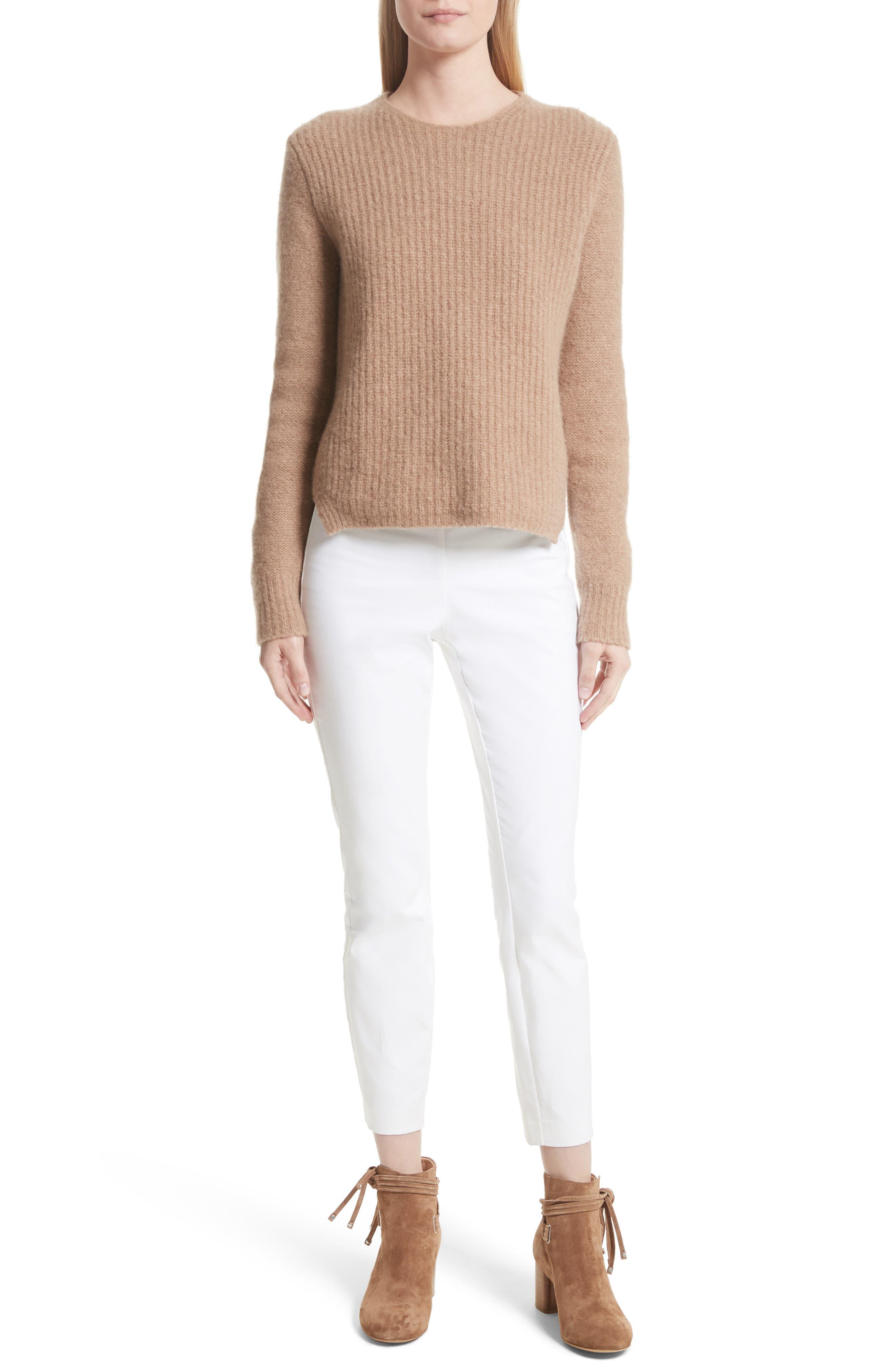 Francie Merino Wool Blend Sweater,                             Alternate thumbnail 6, color,                             230